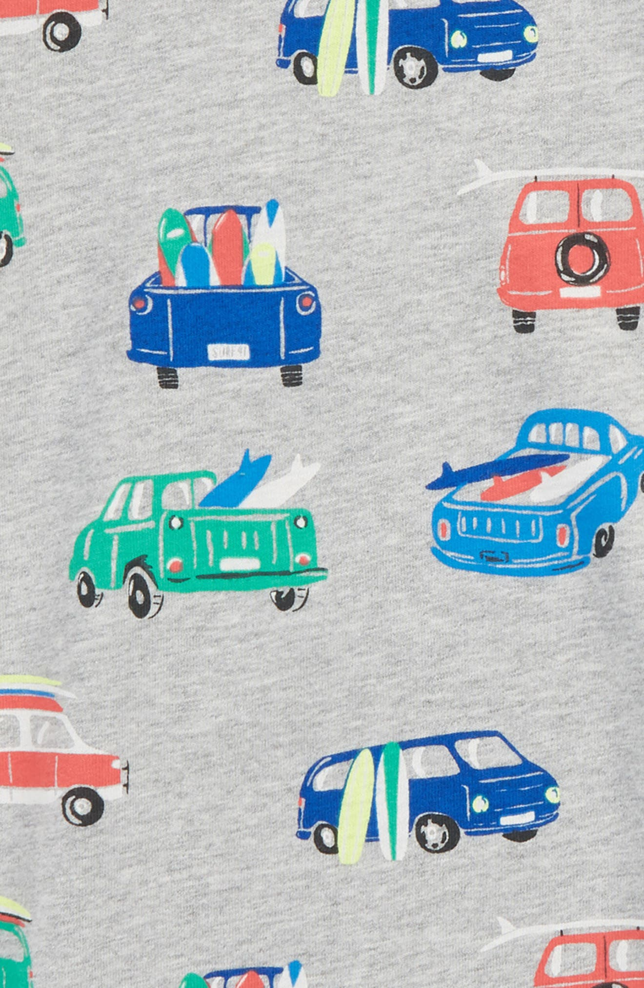 Surf Van T-Shirt,                             Alternate thumbnail 2, color,                             Grey Marl Surf Vans
