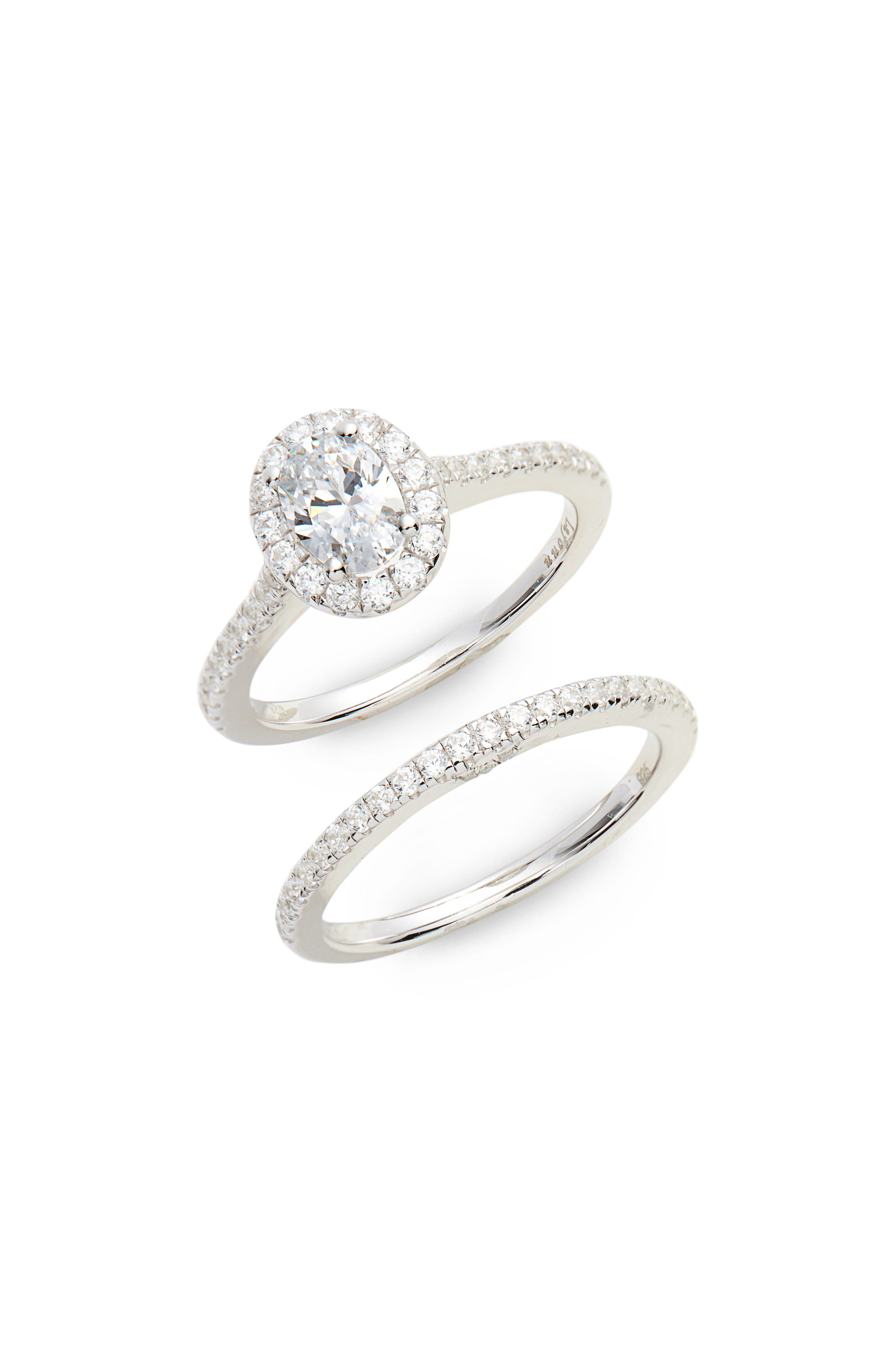Lafonn Joined at the Heart Marquise Halo Ring