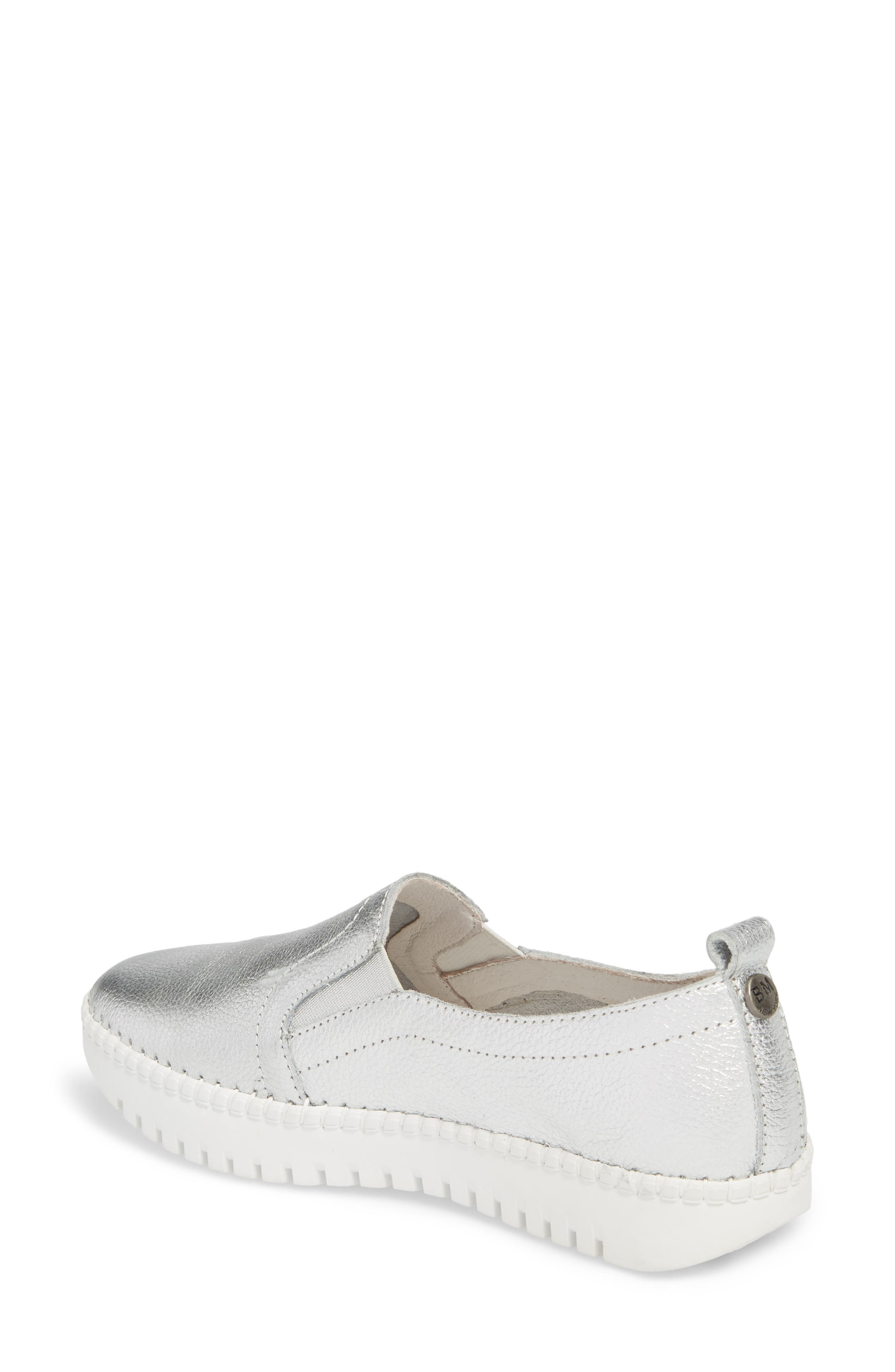TW 82 Sneaker,                             Alternate thumbnail 2, color,                             Silver Leather
