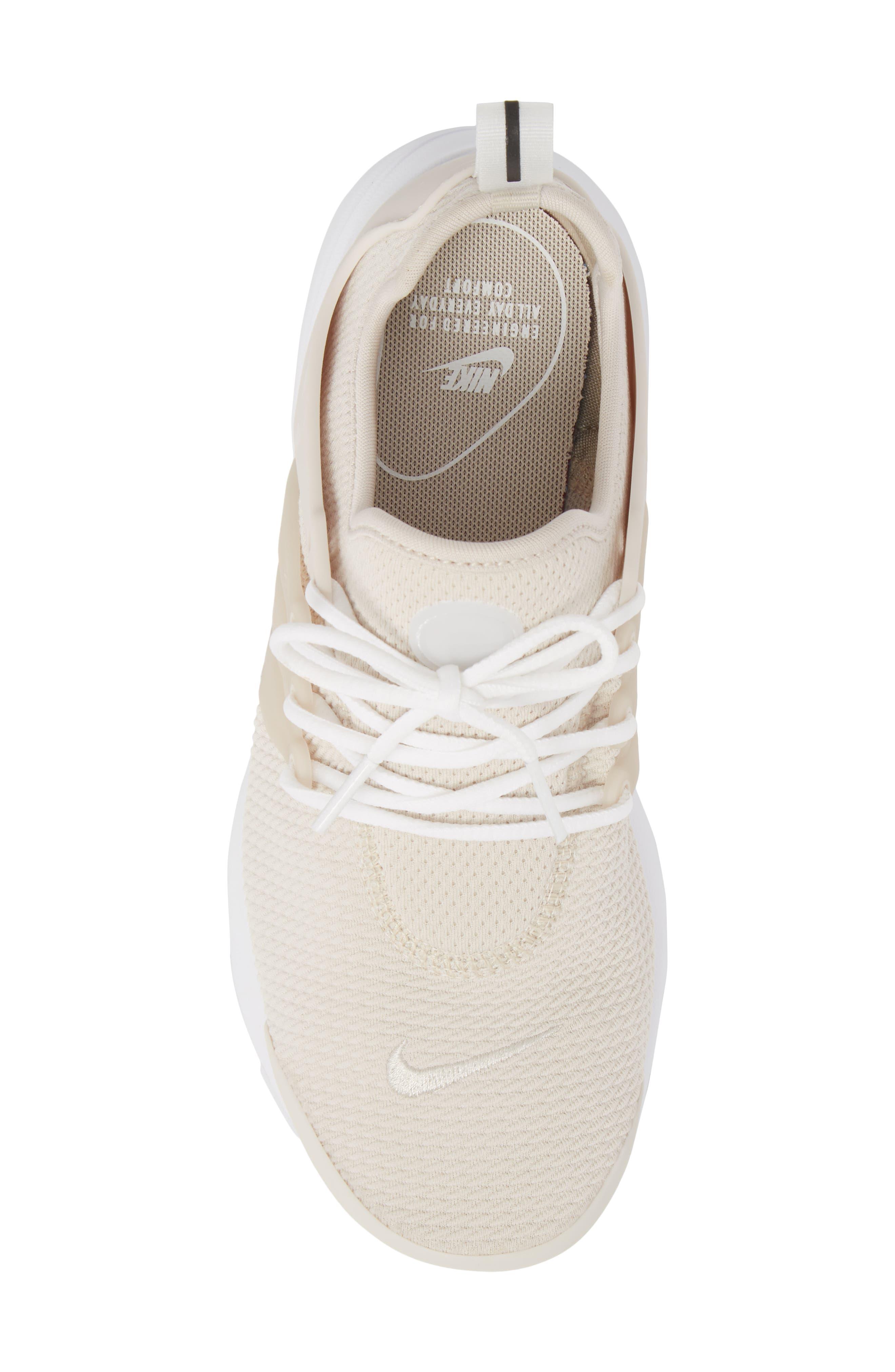 Air Presto Sneaker,                             Alternate thumbnail 5, color,                             Desert Sand/ Desert Sand