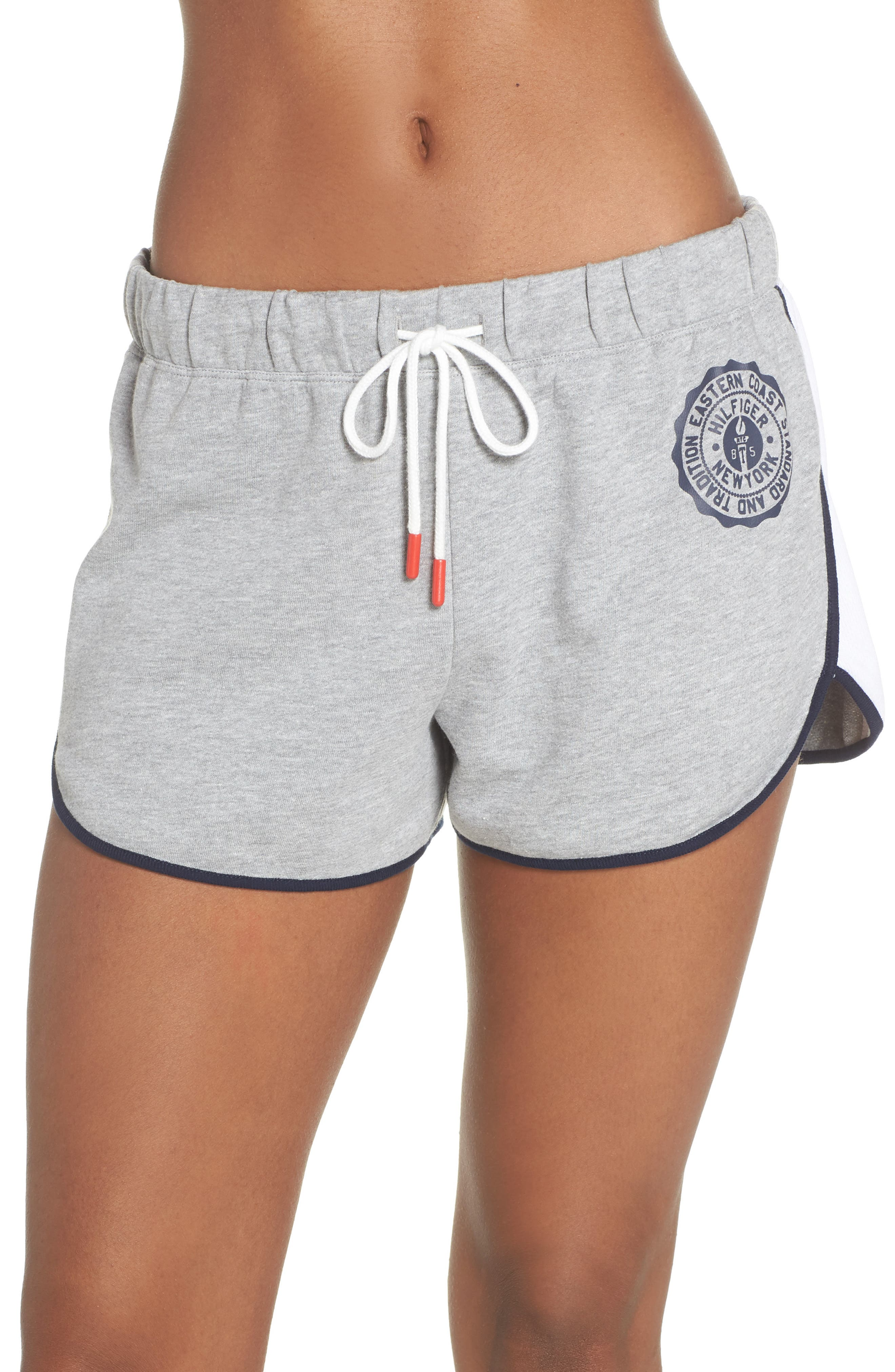 Lounge Shorts,                         Main,                         color, Heather Gray