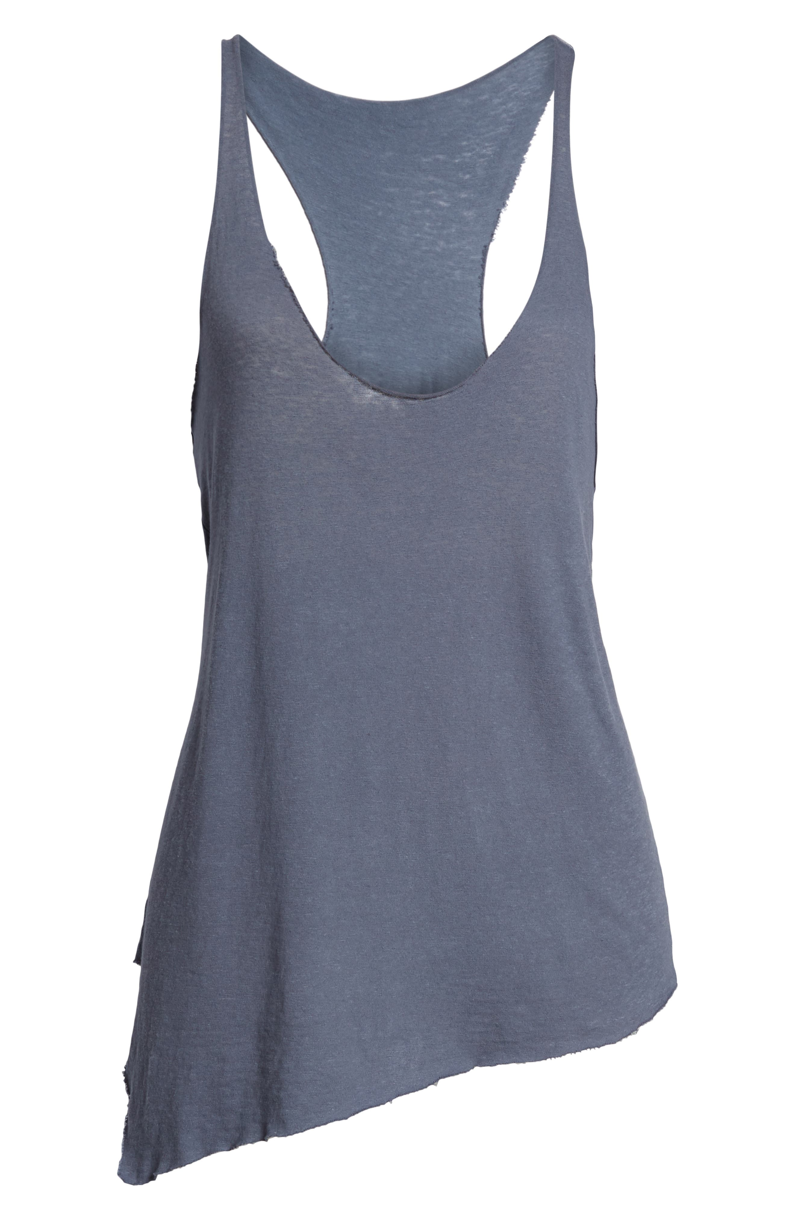 Classic Racerback Tank,                             Alternate thumbnail 7, color,                             Blue
