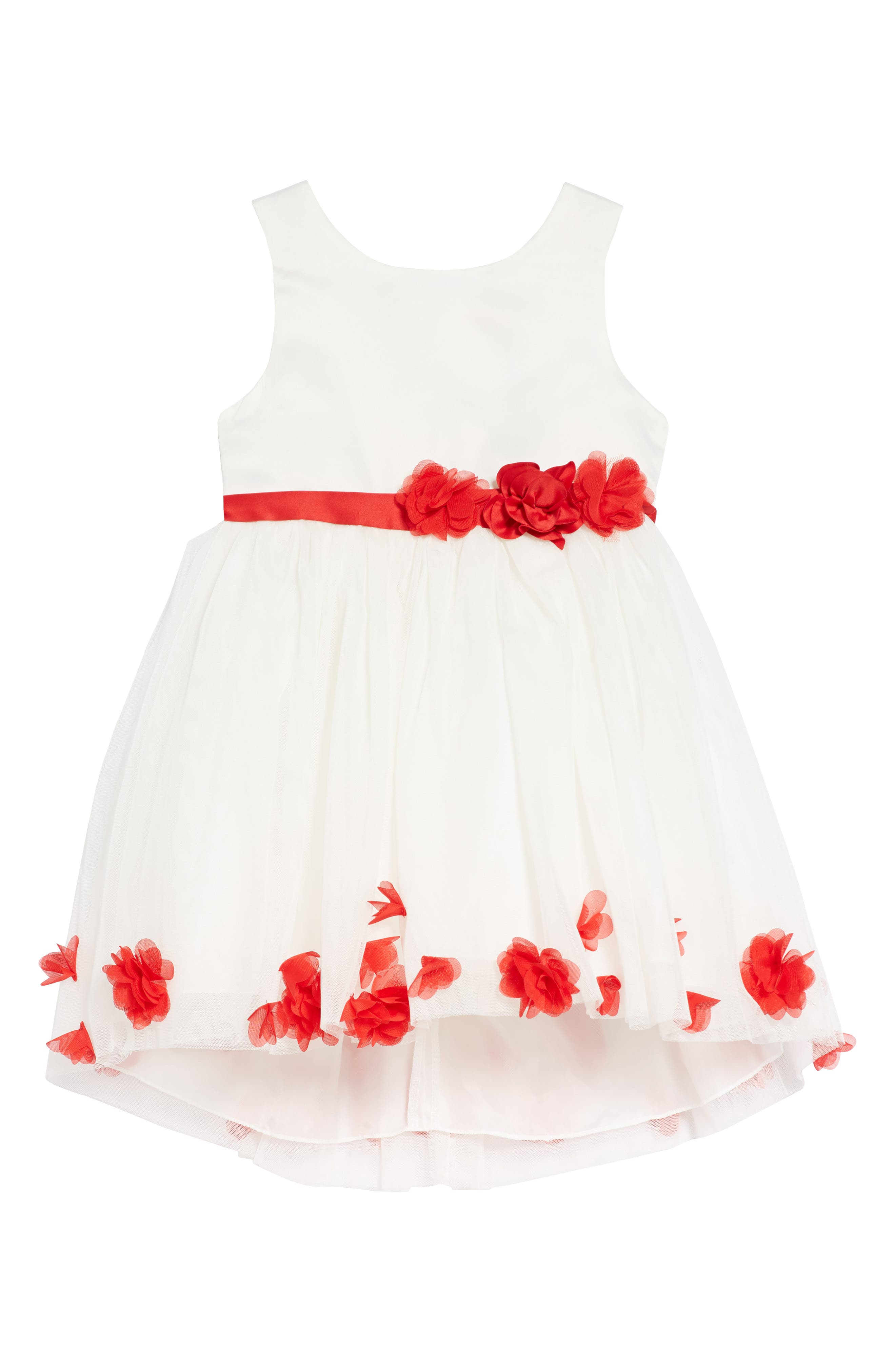 Nanette Lepore Floral Embellished Fit & Flare Dress (Toddler Girls)