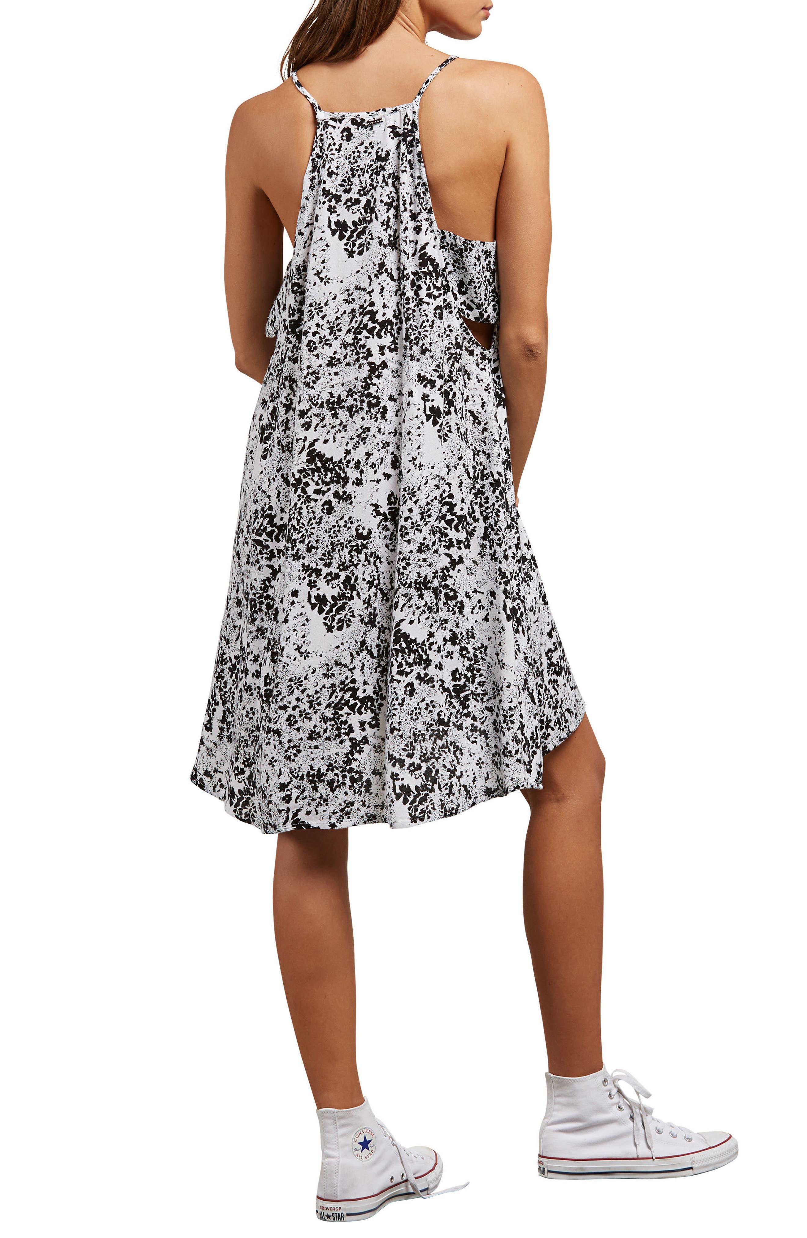 Soul Window Dress,                             Alternate thumbnail 2, color,                             Black/ White