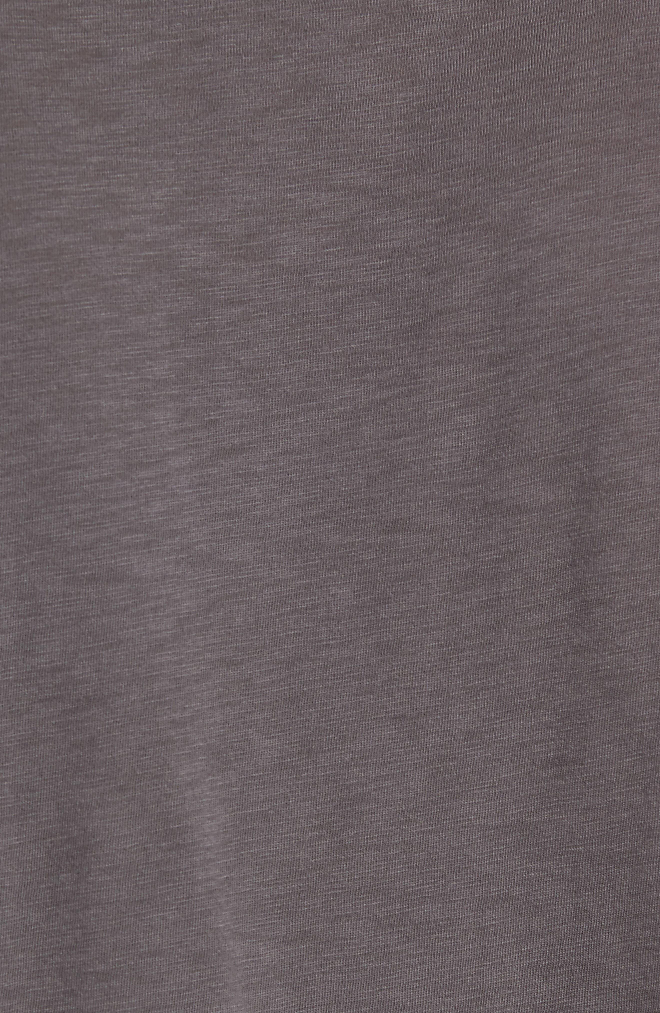 Queen Trim Fit T-Shirt,                             Alternate thumbnail 5, color,                             Grey Queen