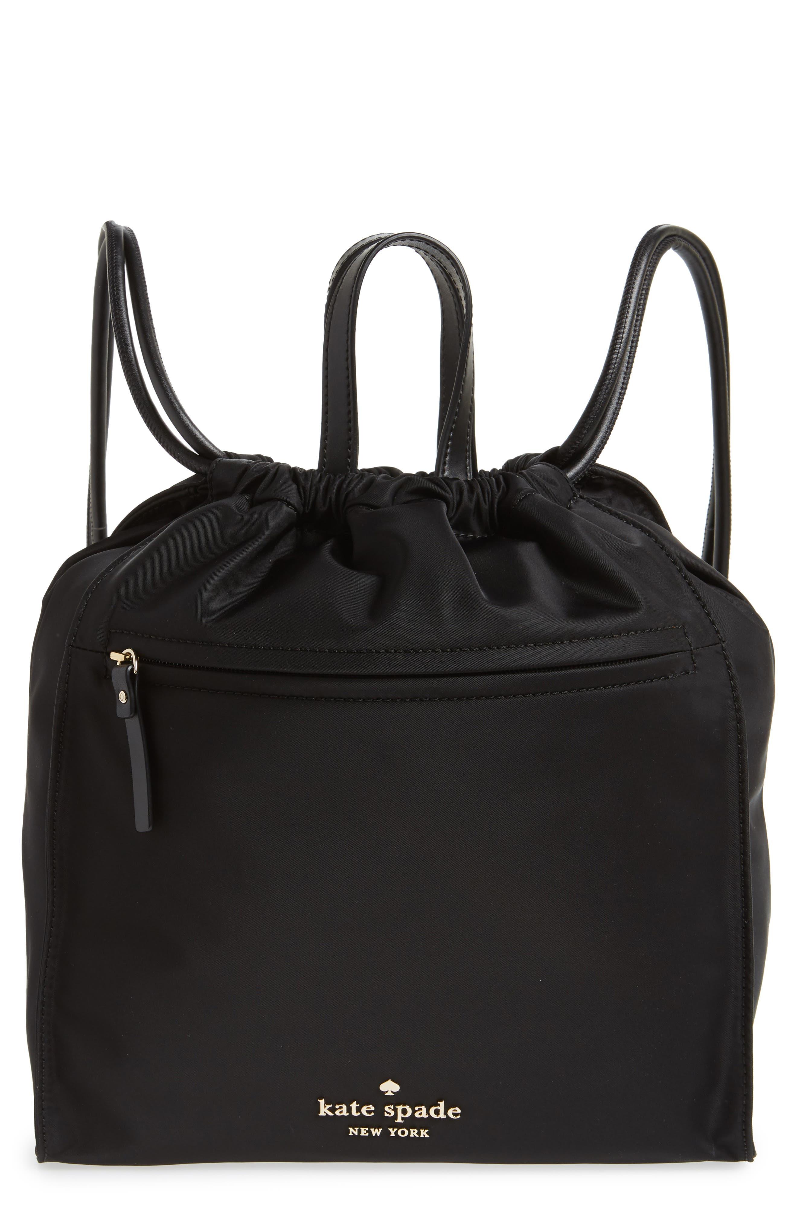 kate spade new york watson lane - faye nylon bucket backpack