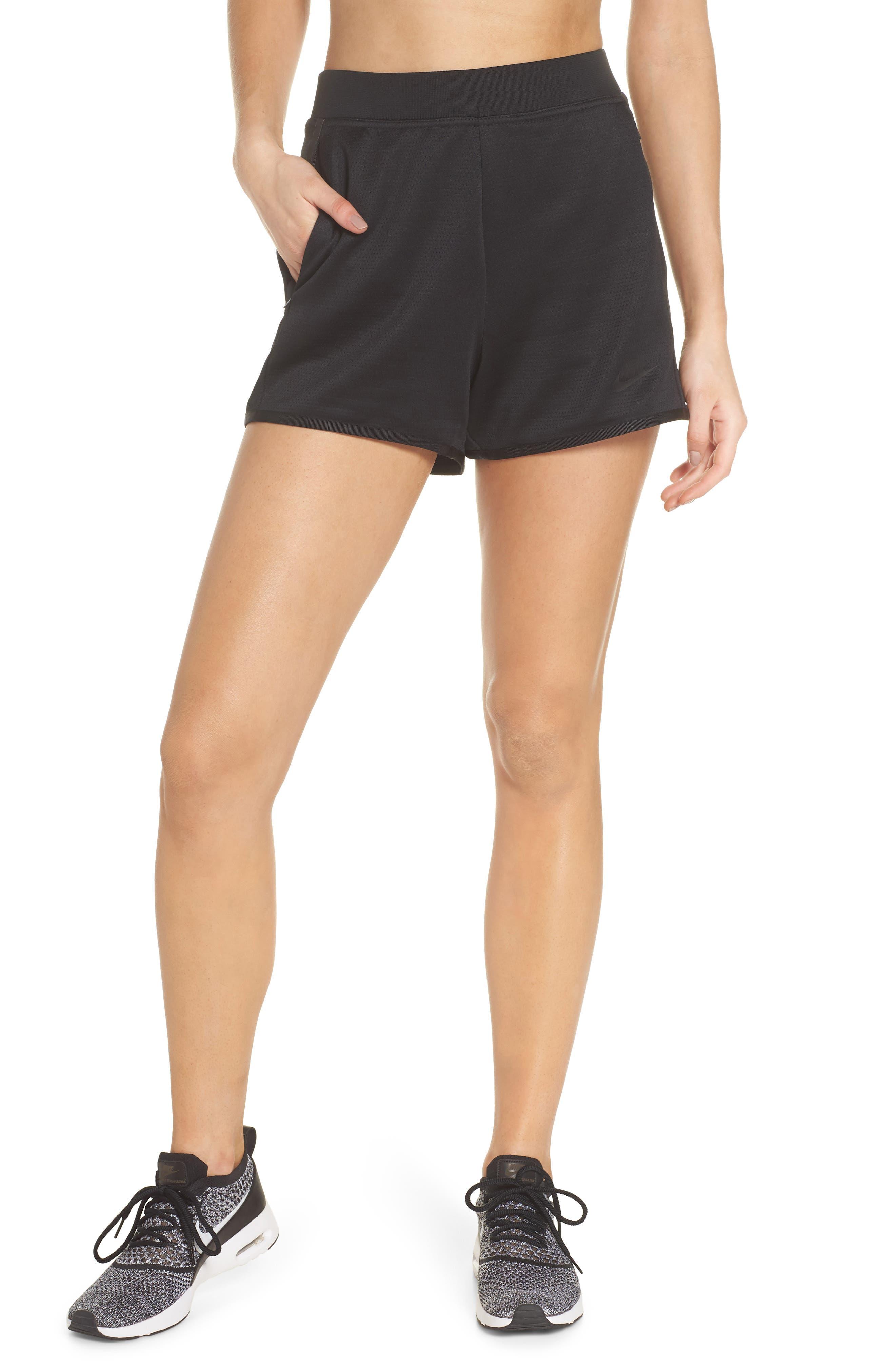 Sportswear Tech Fleece Short,                             Main thumbnail 1, color,                             Black/ Black