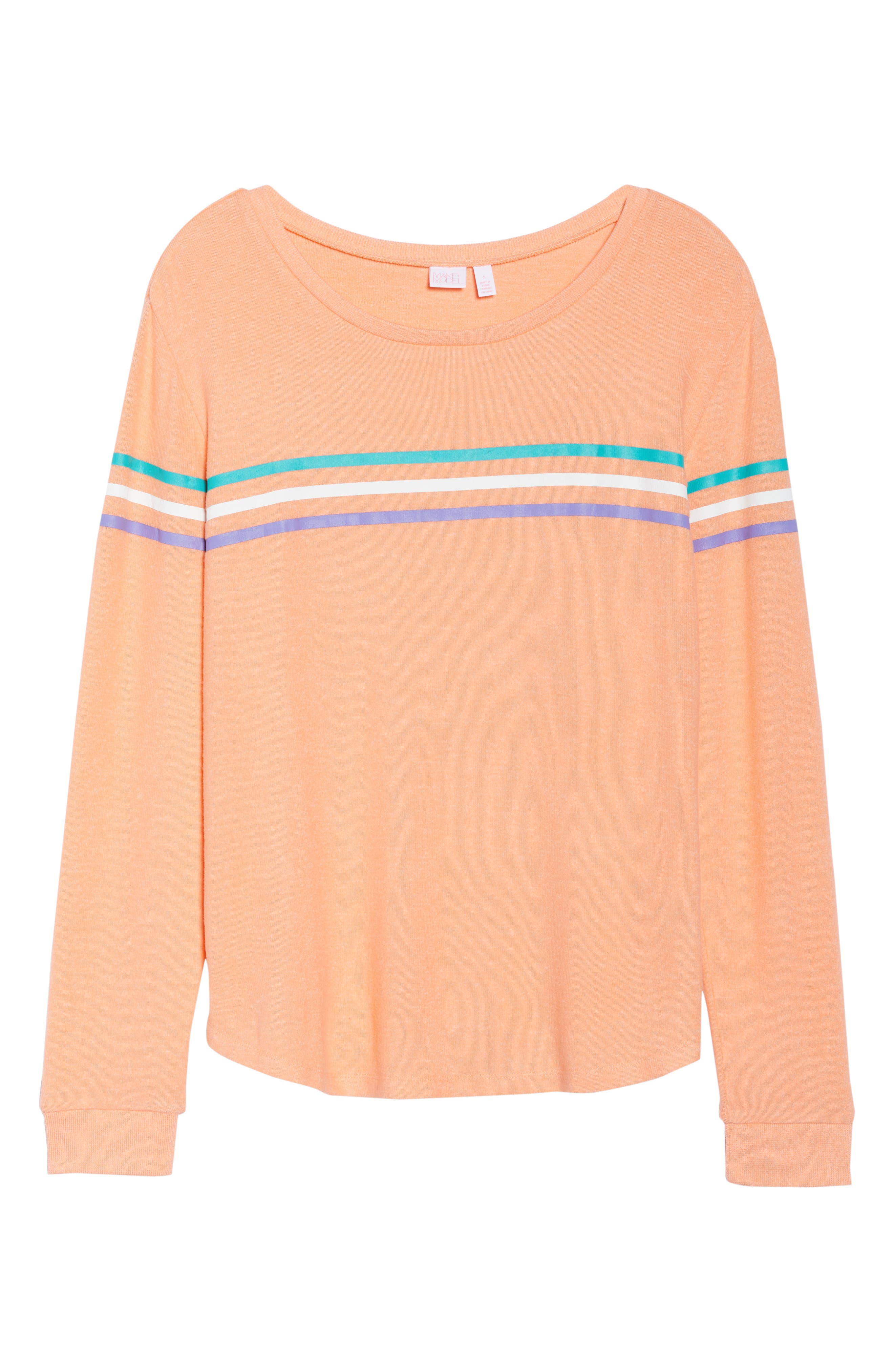 Too Cool Pullover,                             Alternate thumbnail 7, color,                             Coral Pink