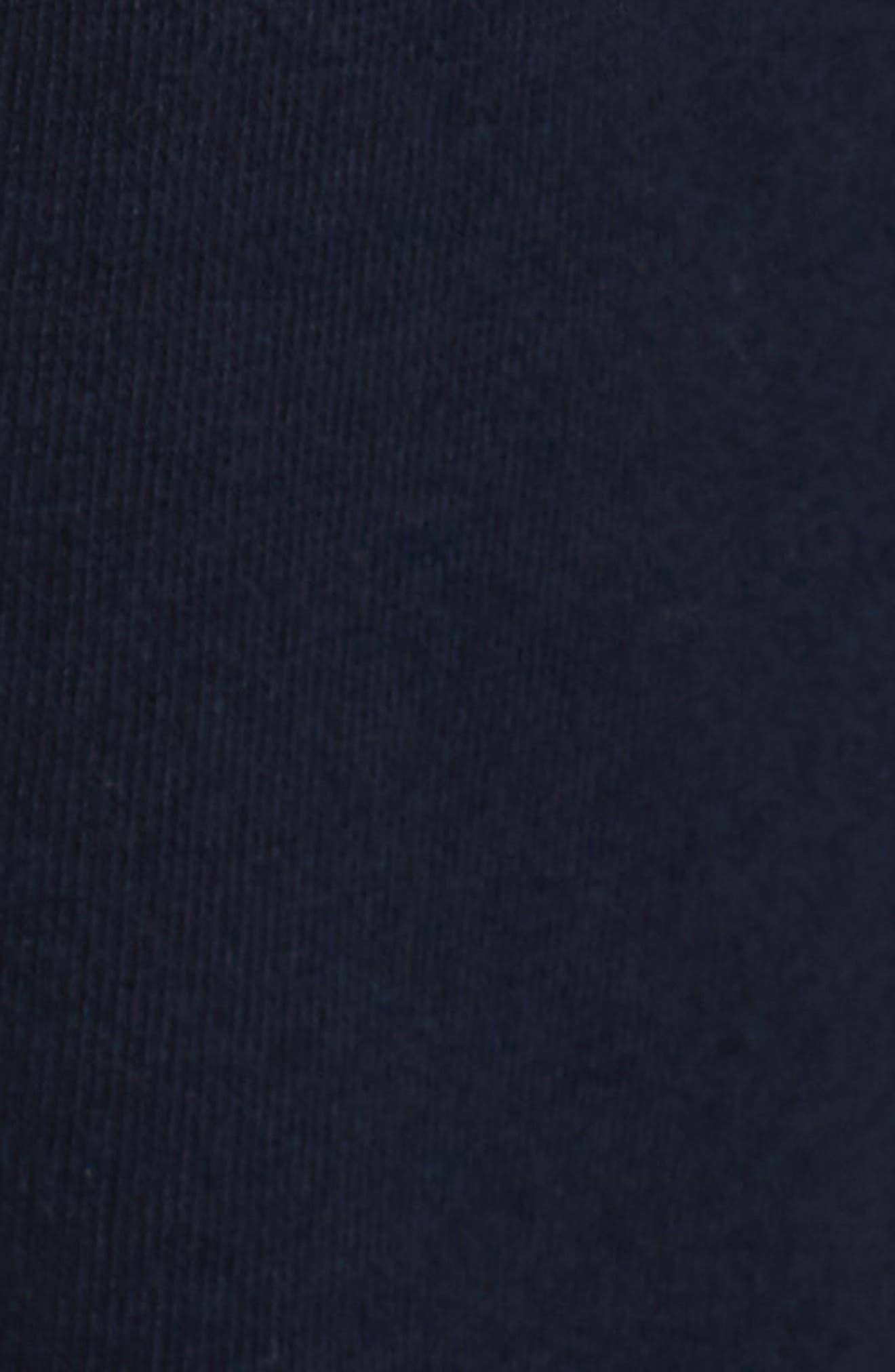 Stripe Lounge Pants,                             Alternate thumbnail 5, color,                             Navy Blazer