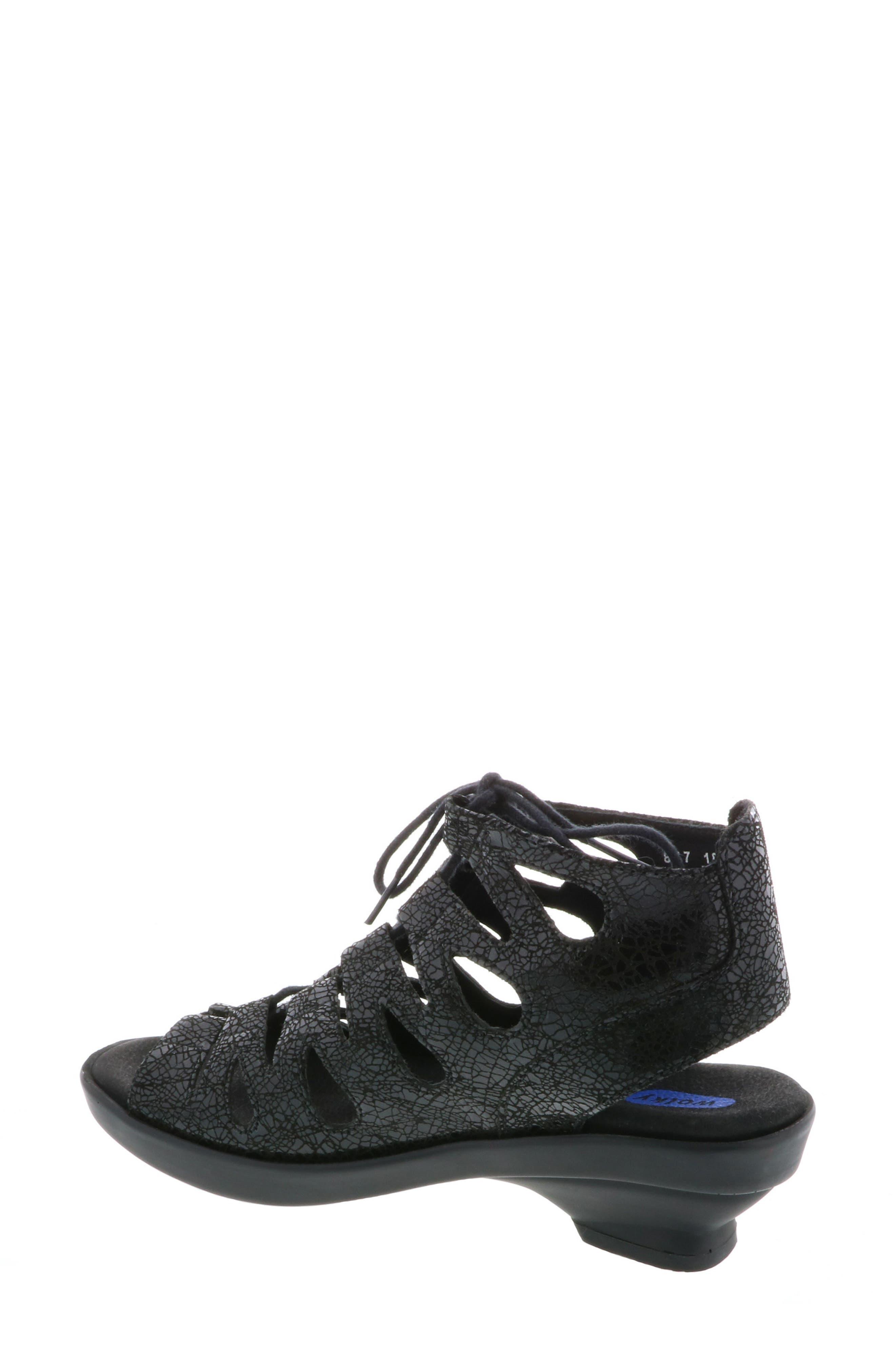 Seminyak Sandal,                             Alternate thumbnail 2, color,                             Black Suede
