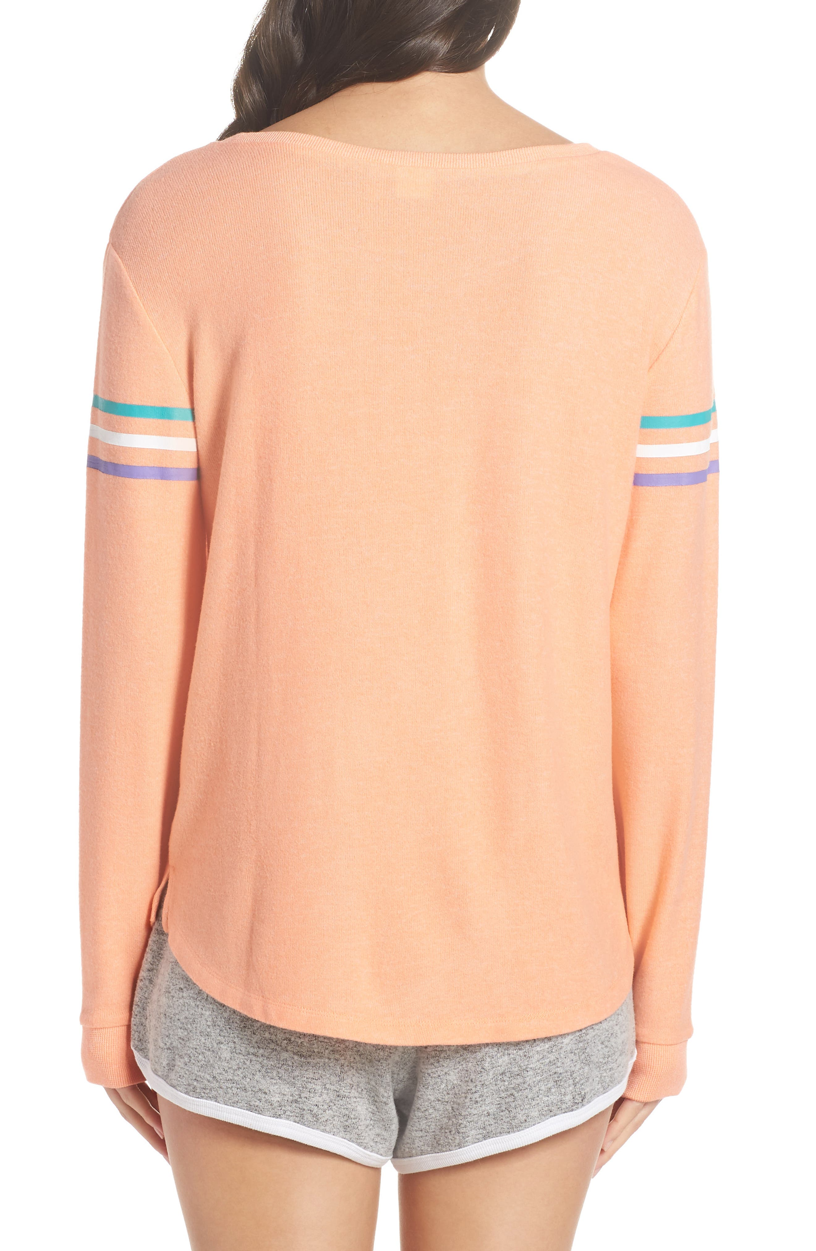 Too Cool Pullover,                             Alternate thumbnail 2, color,                             Coral Pink