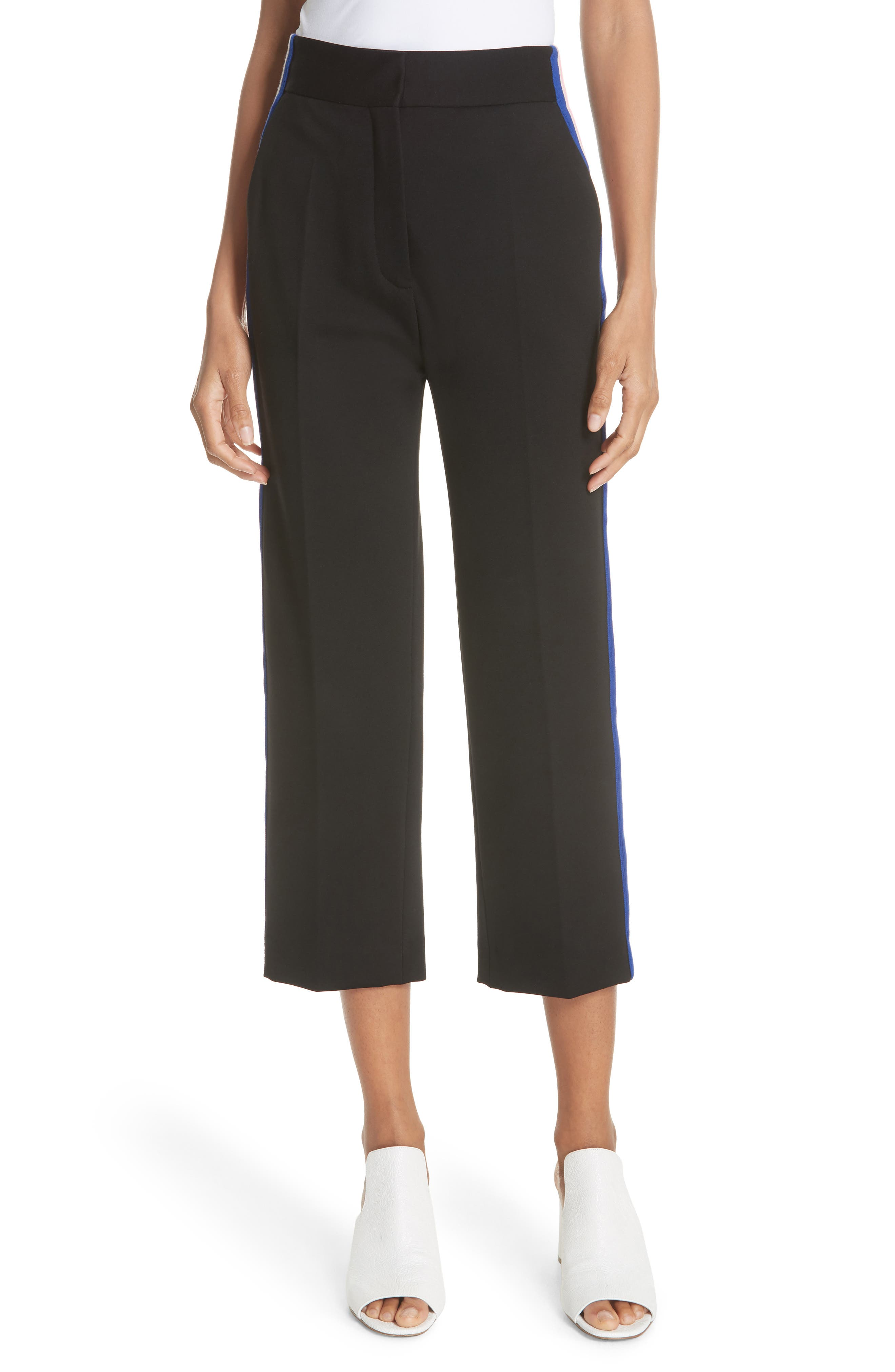 sandro Crop Track Pants