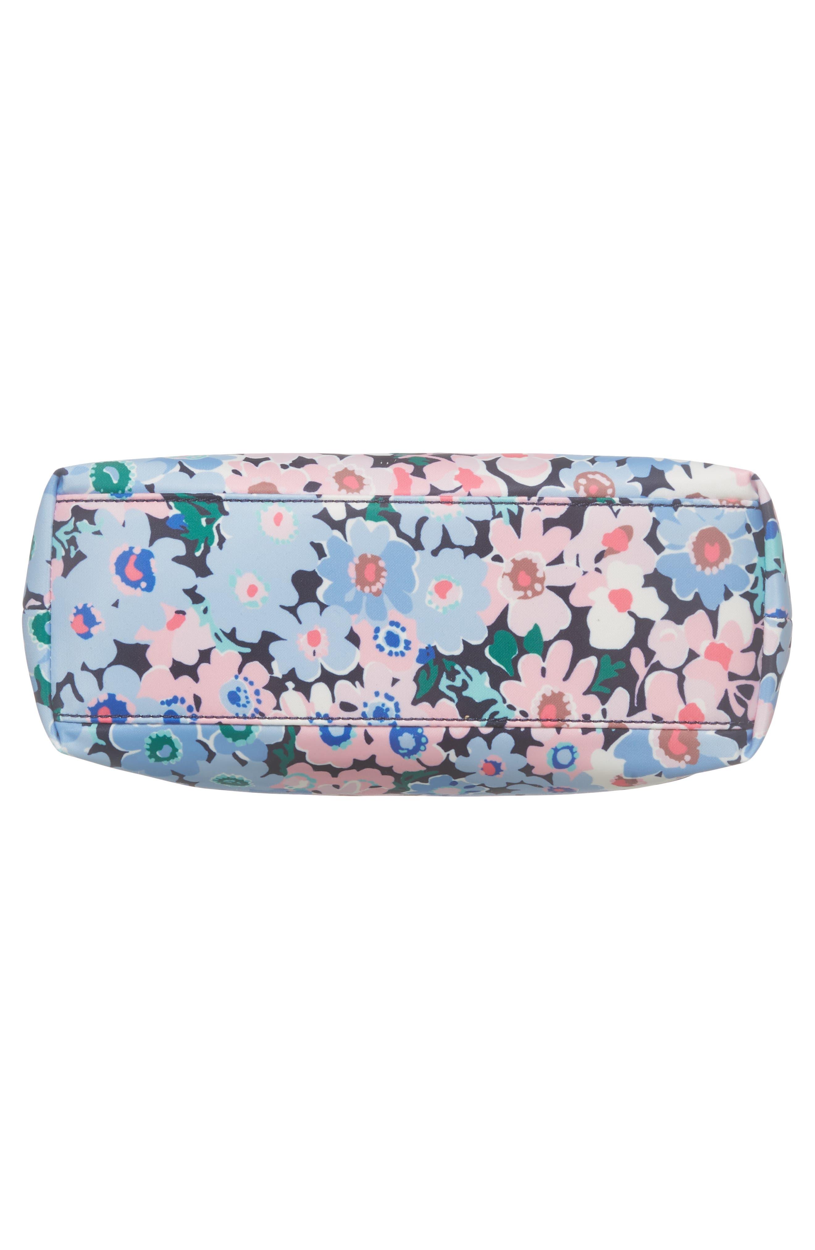 watson lane - daisy garden lucie crossbody bag,                             Alternate thumbnail 6, color,                             Blue Multi