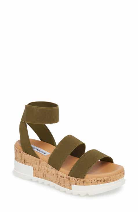 b9a3280f716238 Steve Madden Bandi Platform Wedge Sandal (Women)