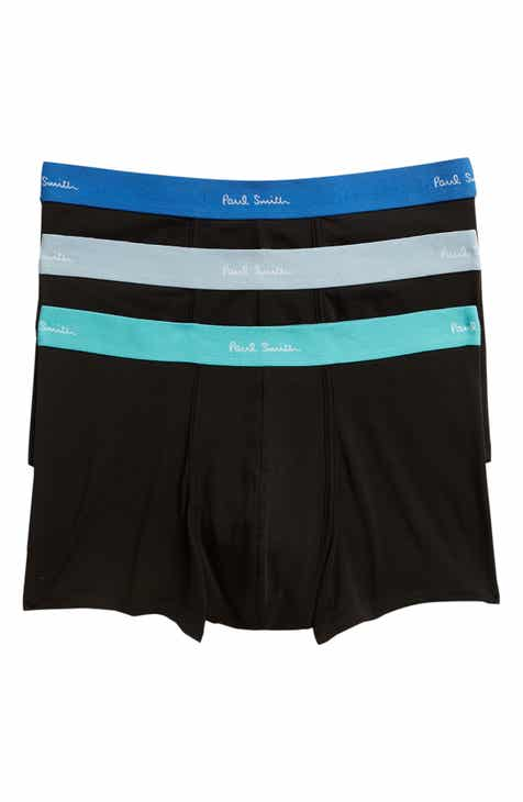Paul Smith 3 Pack Assorted Square Cut Trunks