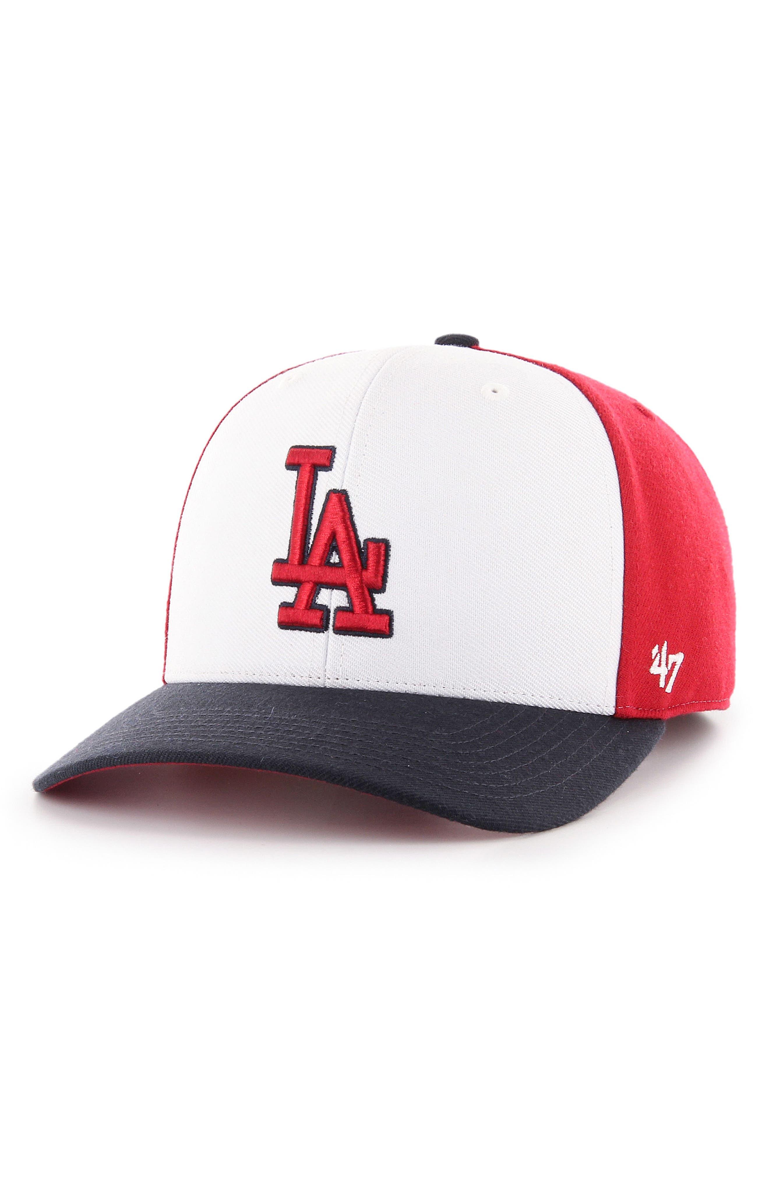 Reresto MLB Ball Cap,                         Main,                         color, Dodgers