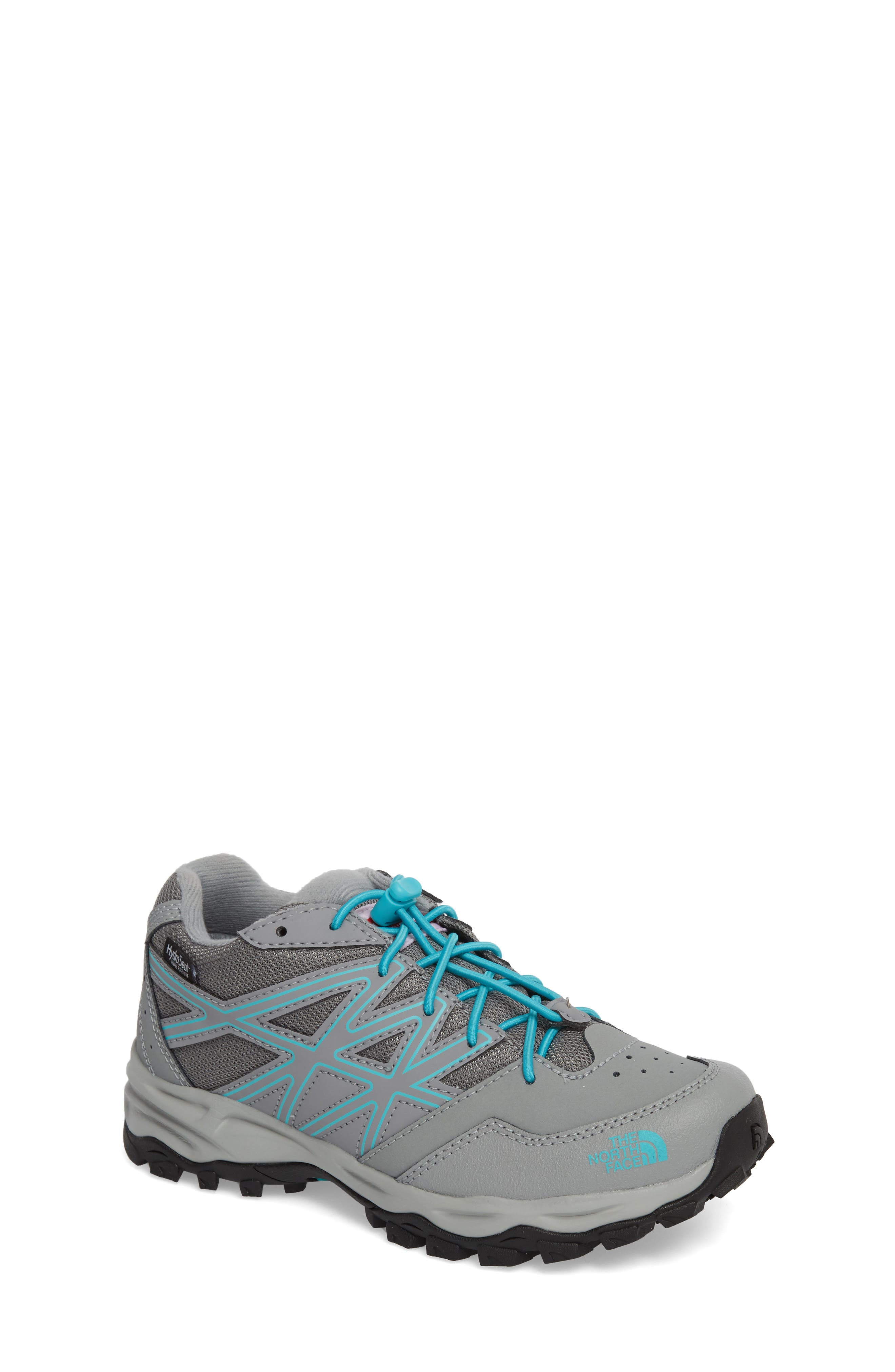Hedgehog Hiker Boot,                             Main thumbnail 1, color,                             Griffin Grey/ Blue Curacao