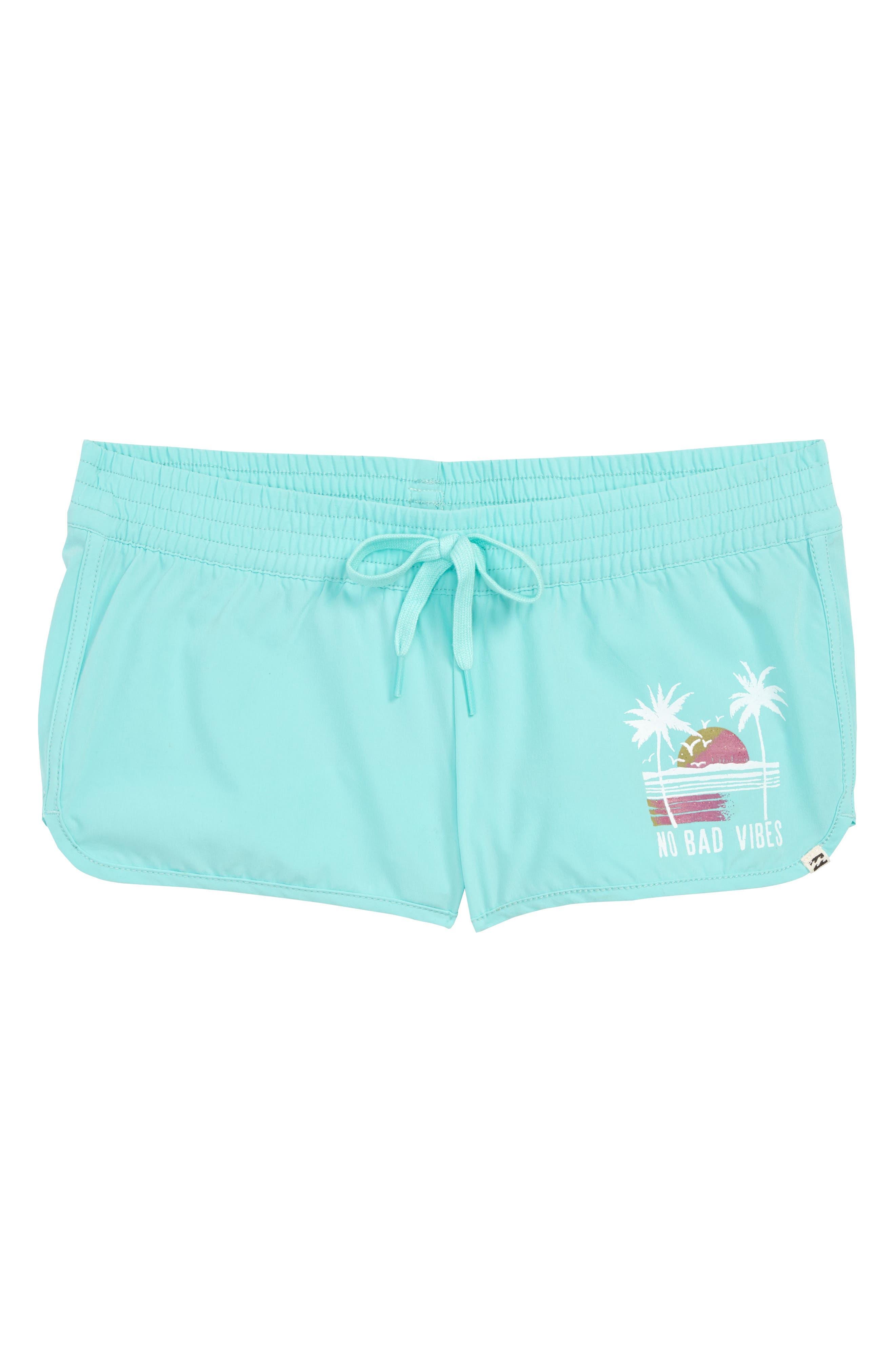 Sol Searcher Dolphin Shorts,                             Main thumbnail 1, color,                             Beach Glass