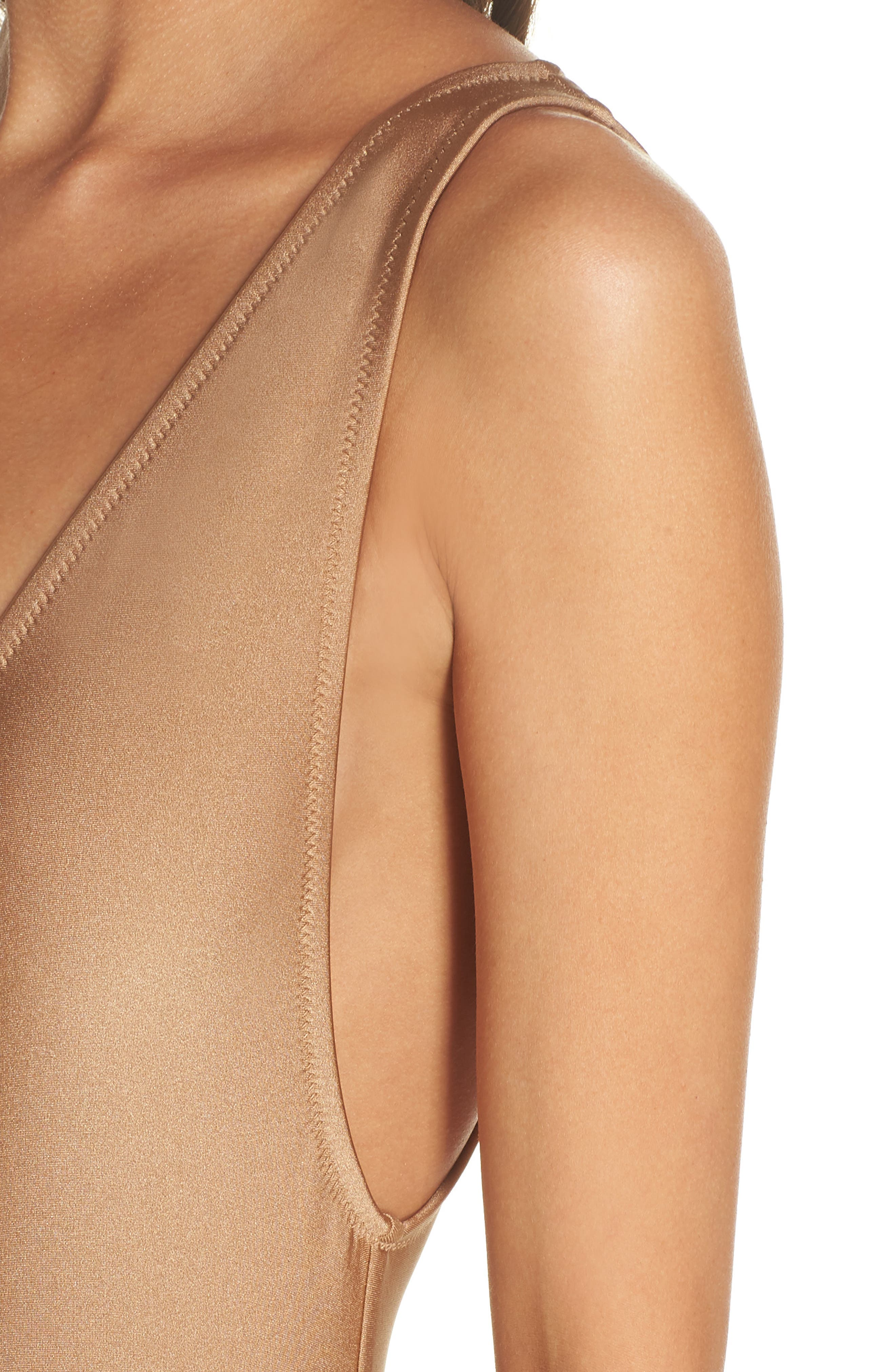 Vermont One-Piece Swimsuit,                             Alternate thumbnail 4, color,                             Gold