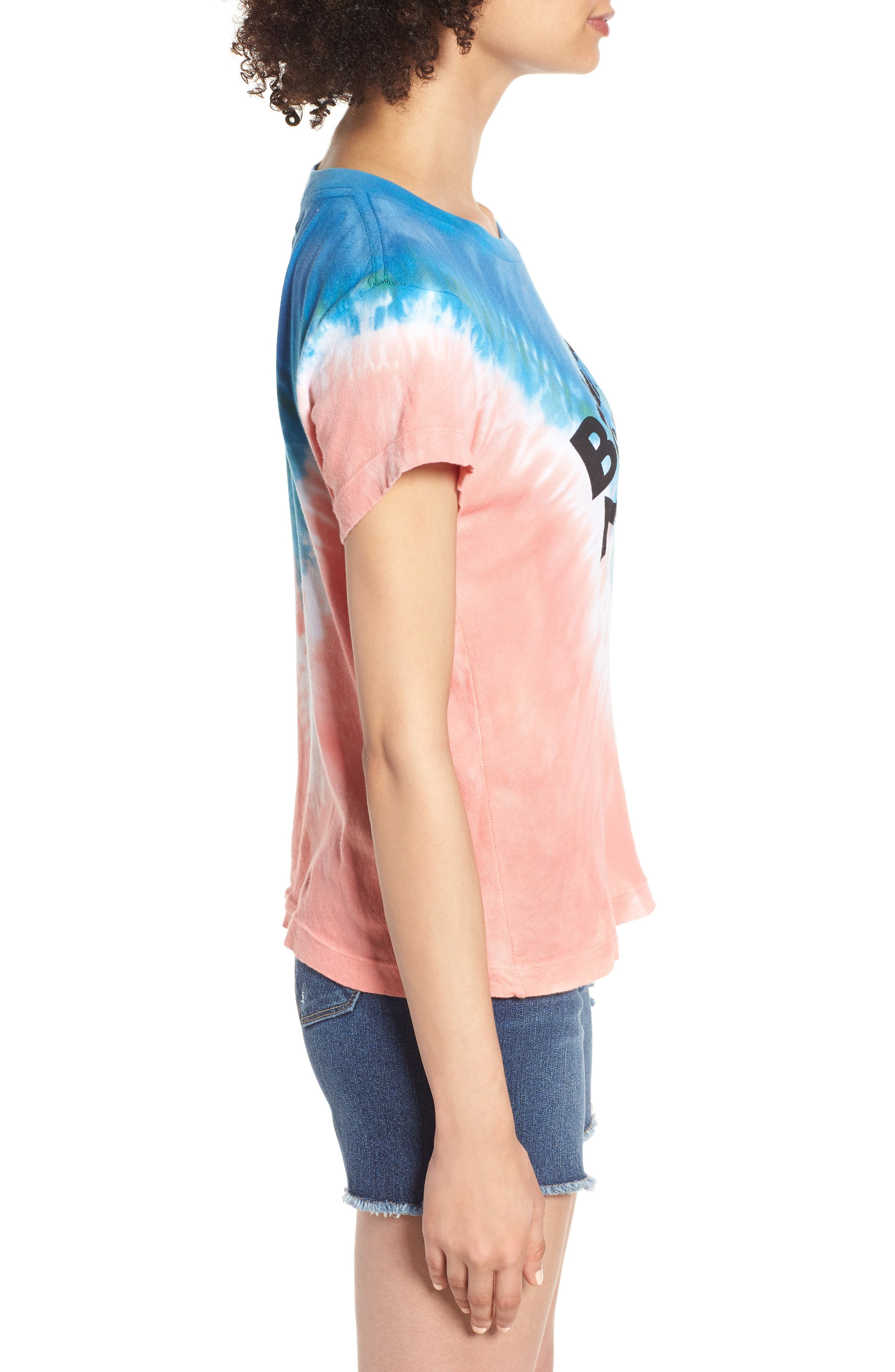 Bahama Mama No9 Tee,                             Alternate thumbnail 3, color,                             Pacific Tie Dye