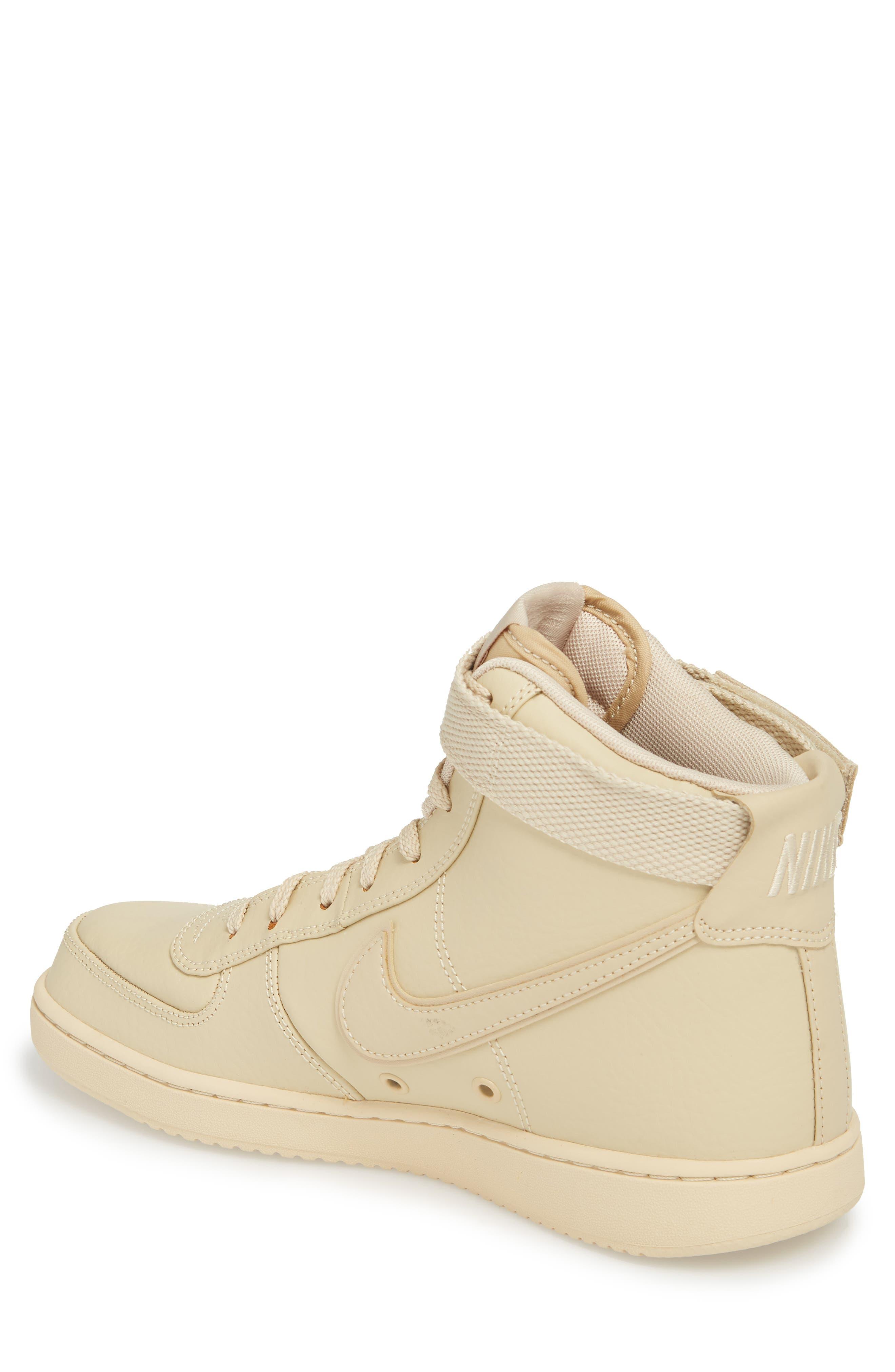 Vandal High Supreme Leather Sneaker,                             Alternate thumbnail 2, color,                             Desert Ore
