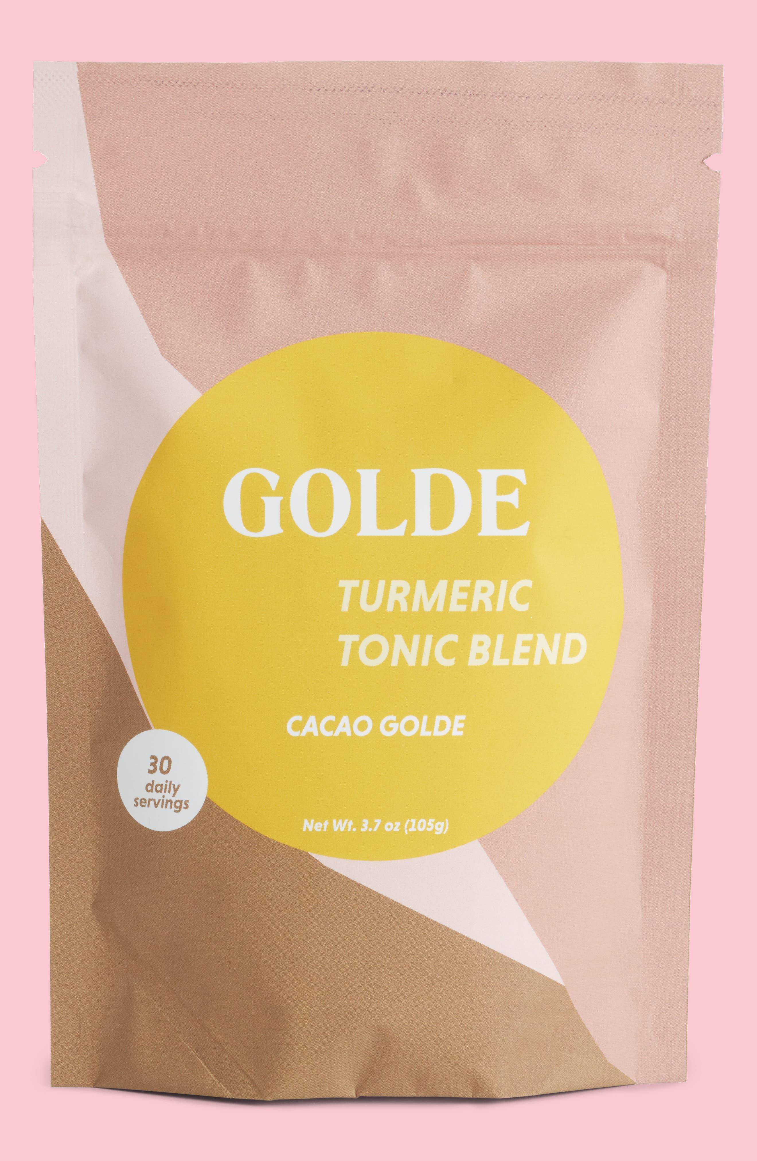 Golde Cacao Golde Turmeric Tonic Blend,                             Main thumbnail 1, color,                             None