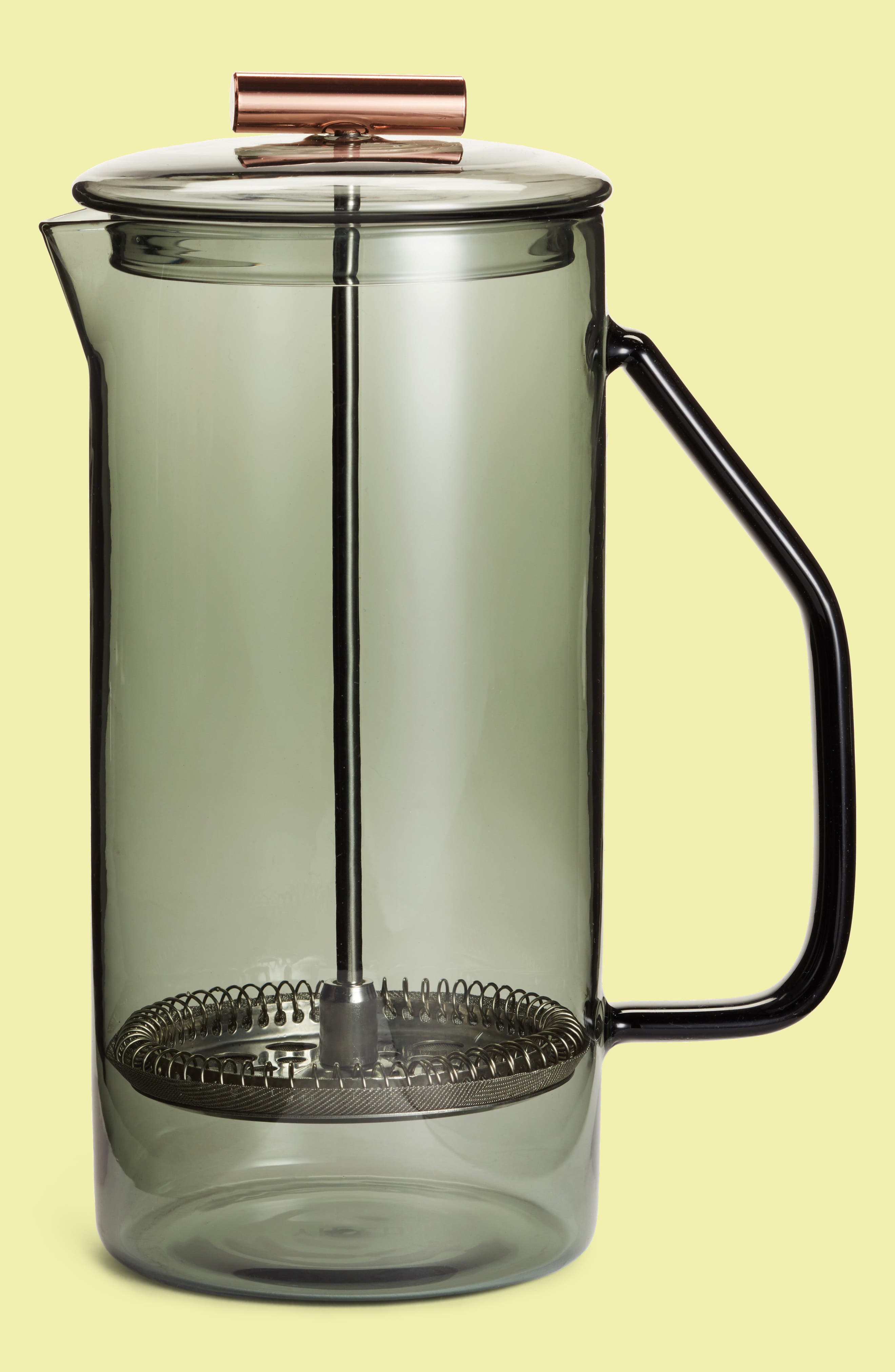 YIELD Glass French Press Coffee Maker