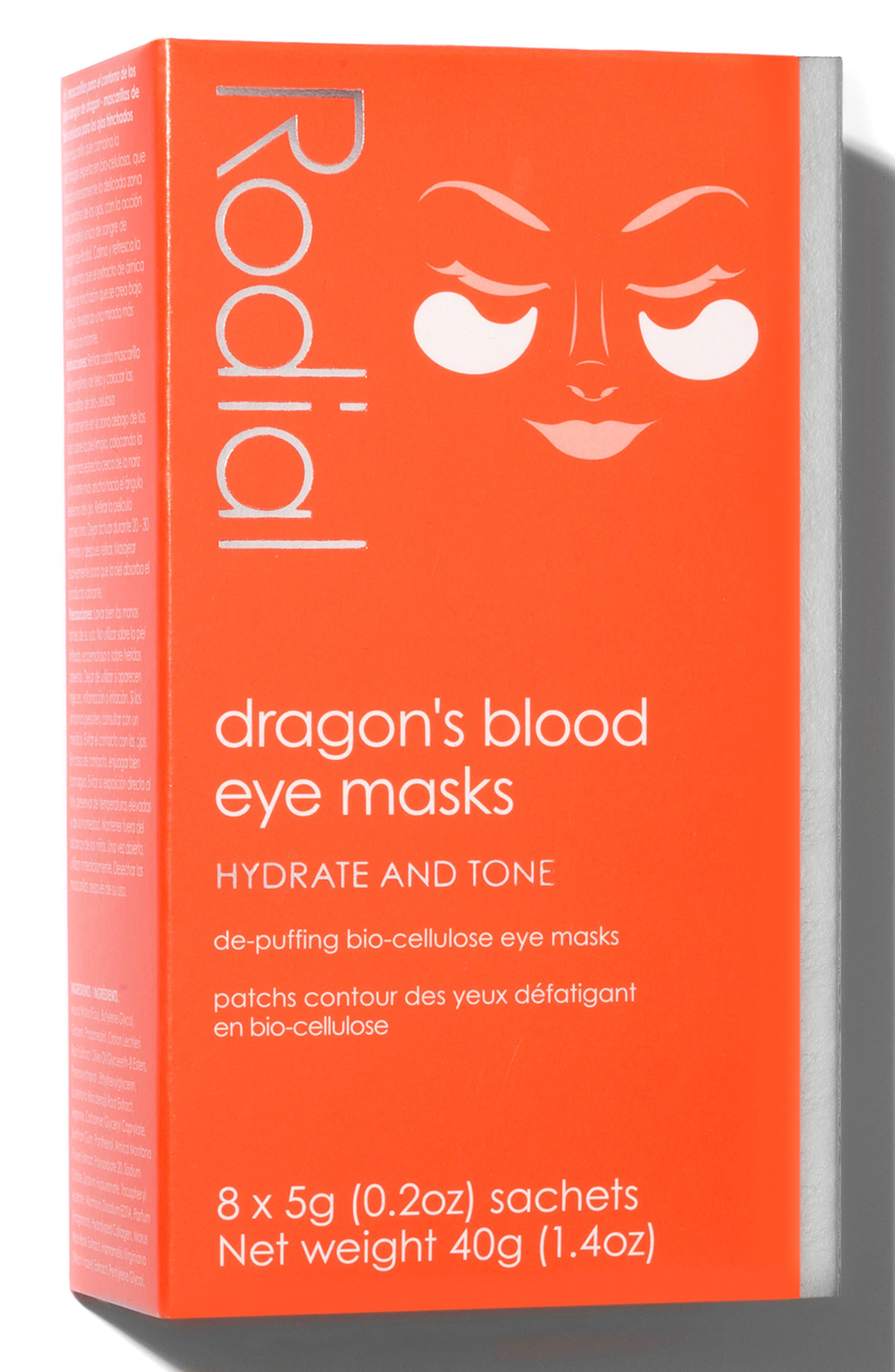 SPACE.NK.apothecary Rodial Dragon's Blood Eye Mask,                             Alternate thumbnail 4, color,                             No Color