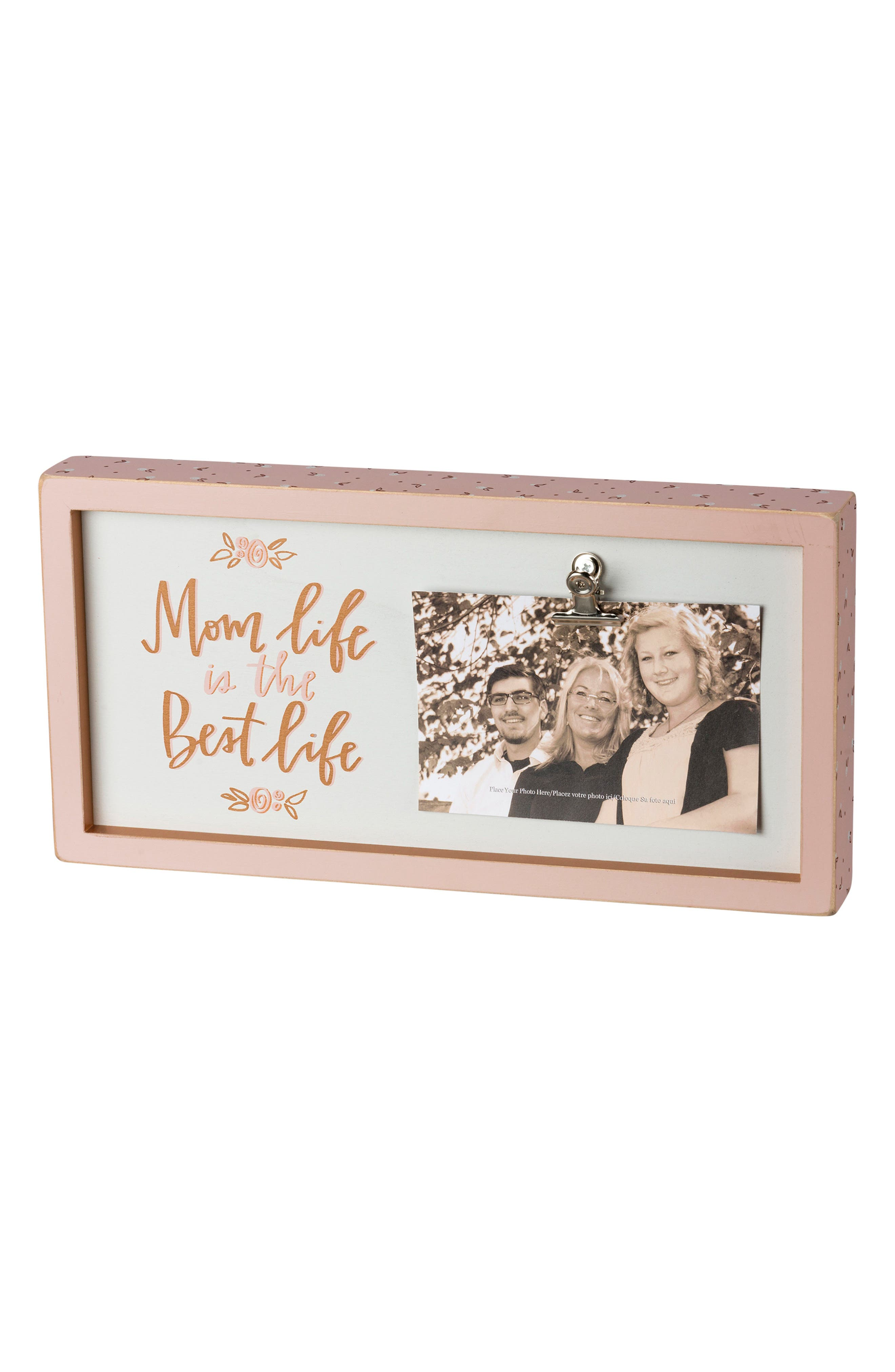Primitives by Kathy Mom Life Inset Box Picture Frame