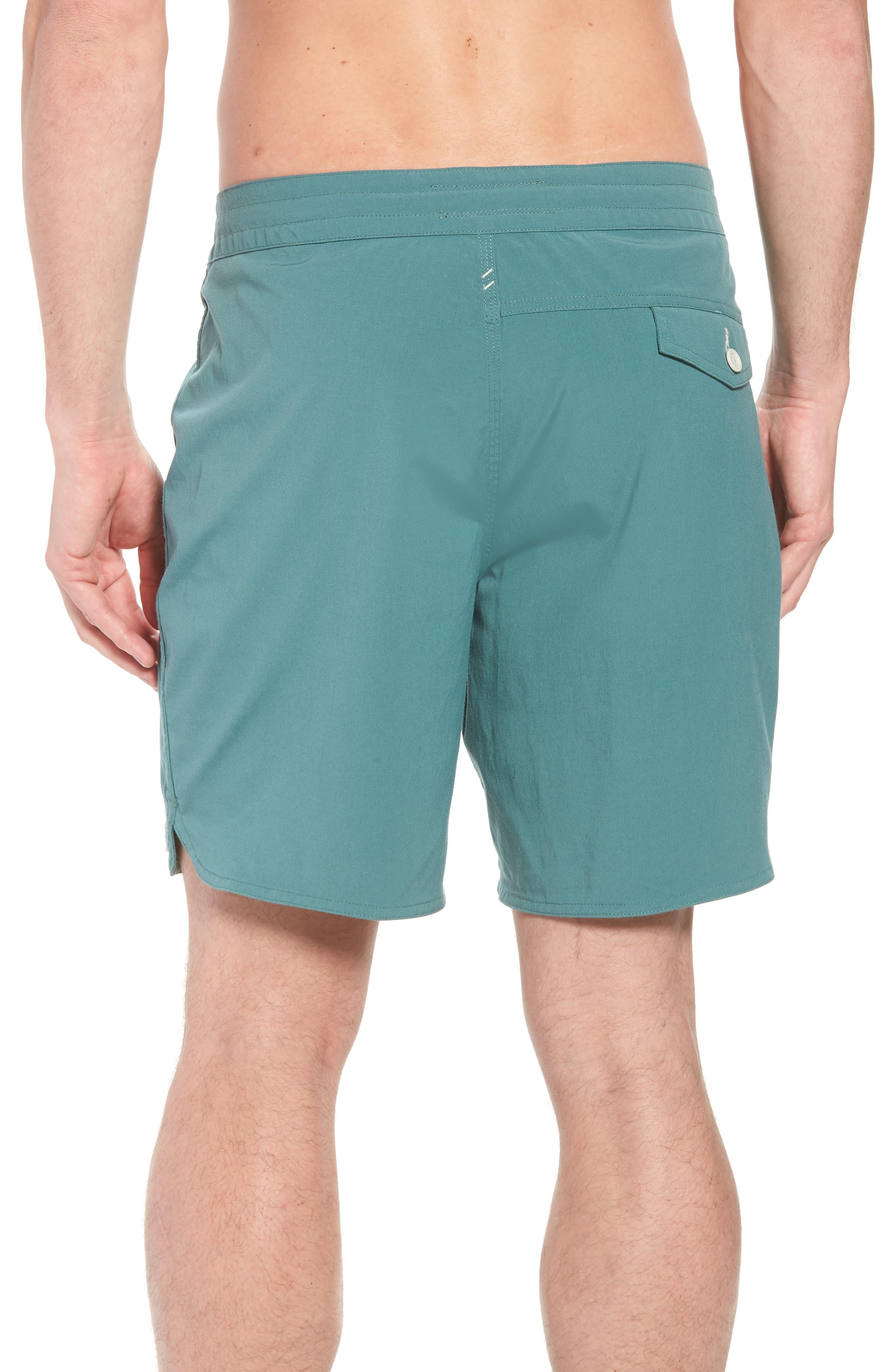 Avalon Board Shorts,                             Alternate thumbnail 2, color,                             Palm Green