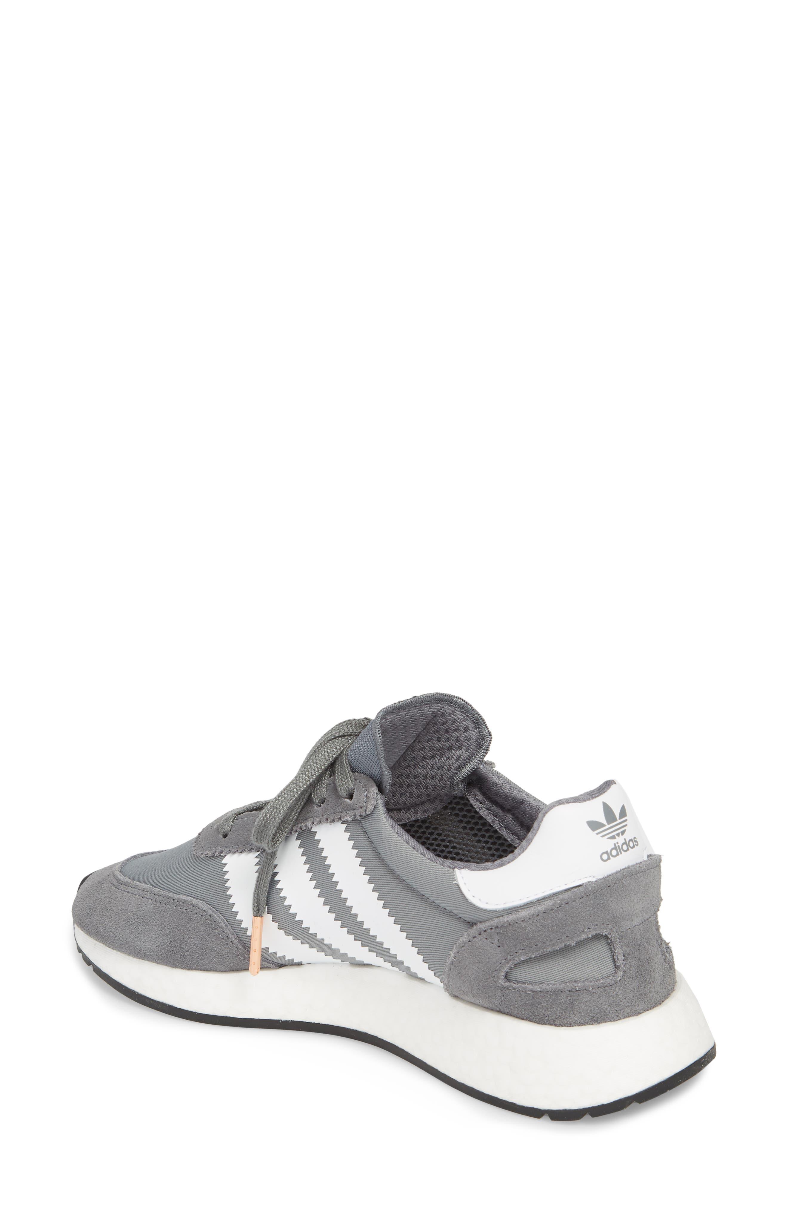 I-5923 Sneaker,                             Alternate thumbnail 2, color,                             Visible Grey/ White/ Black