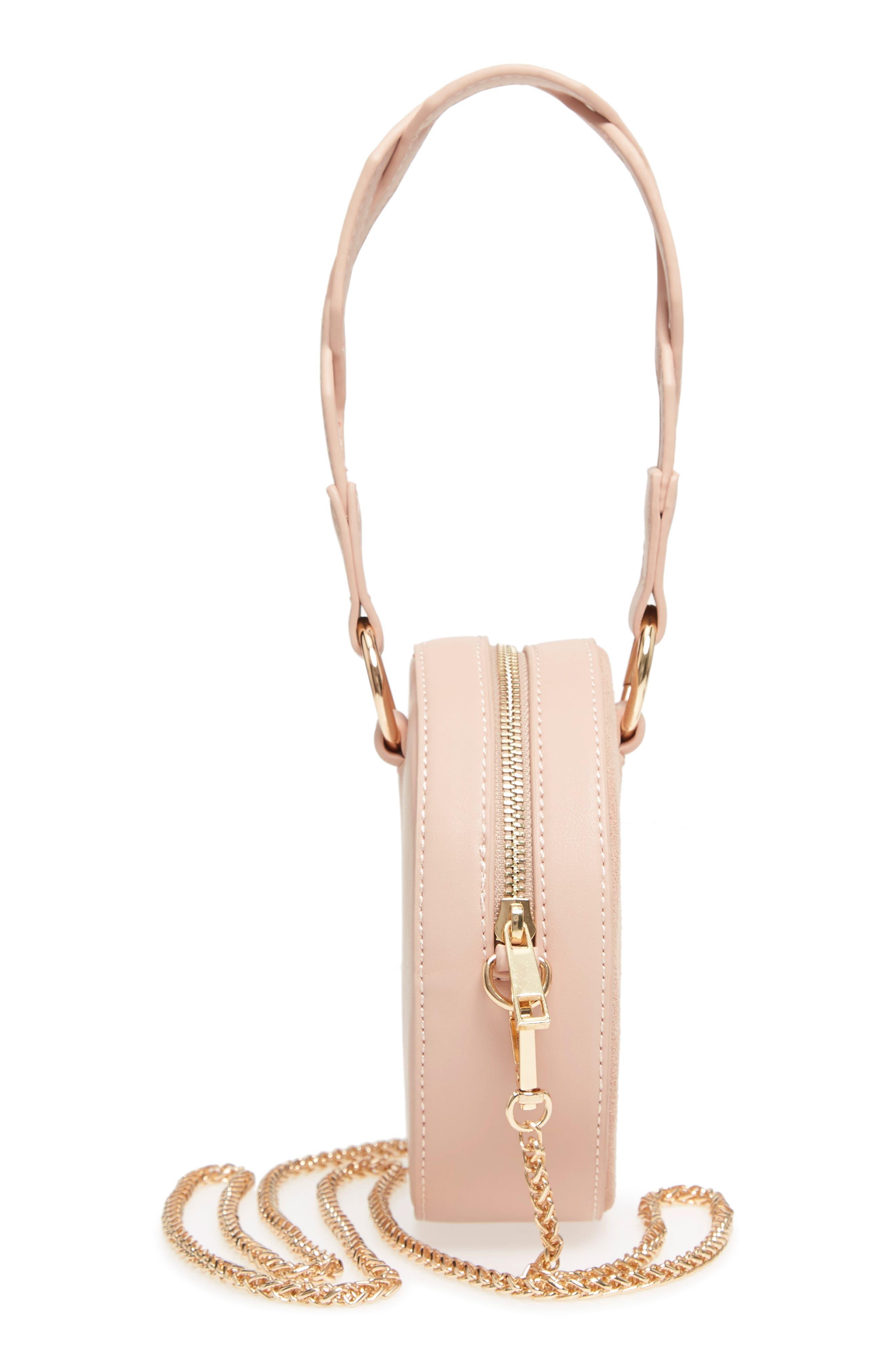 Circle Bag with Wristlet,                             Alternate thumbnail 5, color,                             Tan