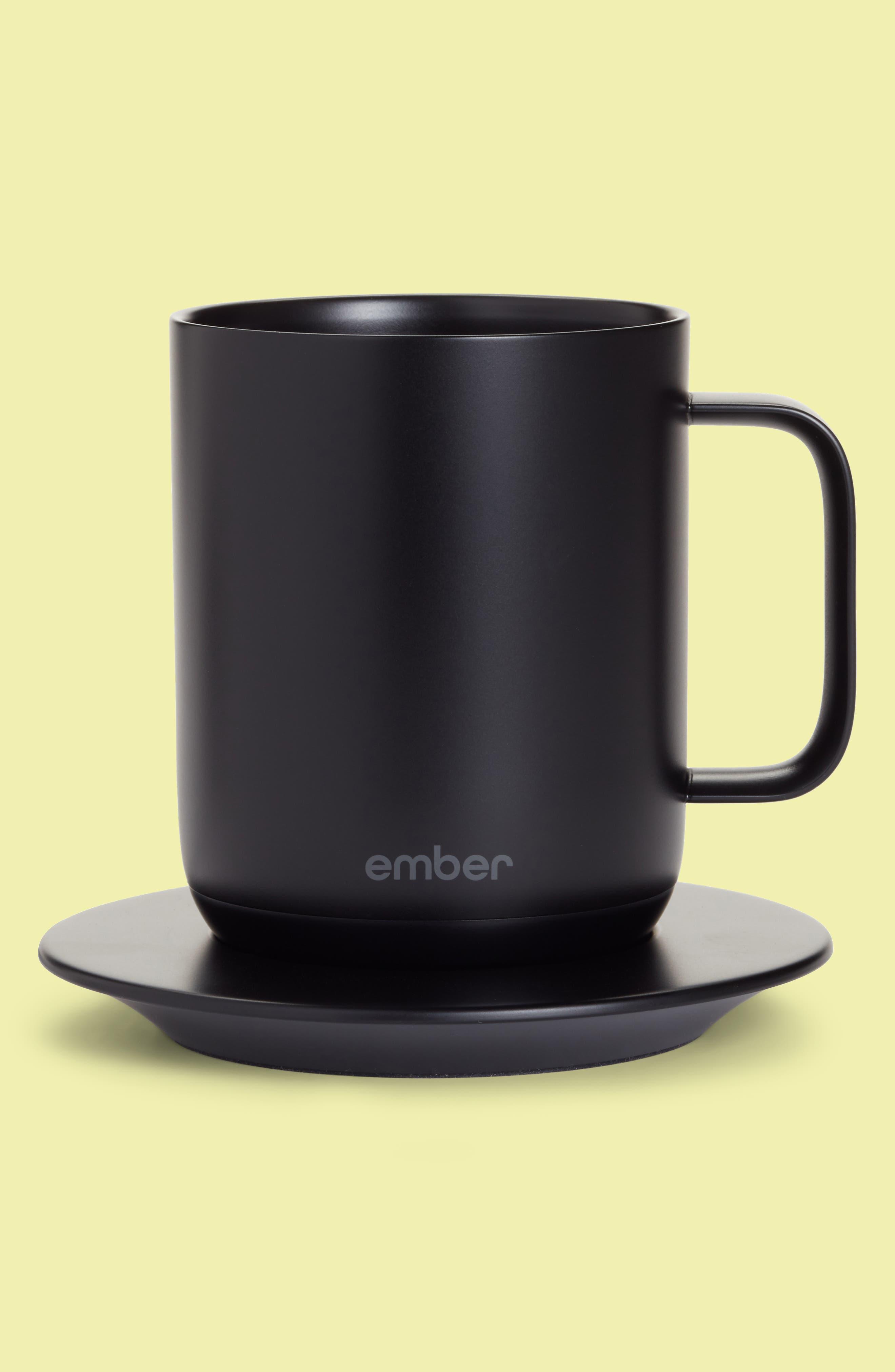 Ceramic Mug,                         Main,                         color, Black