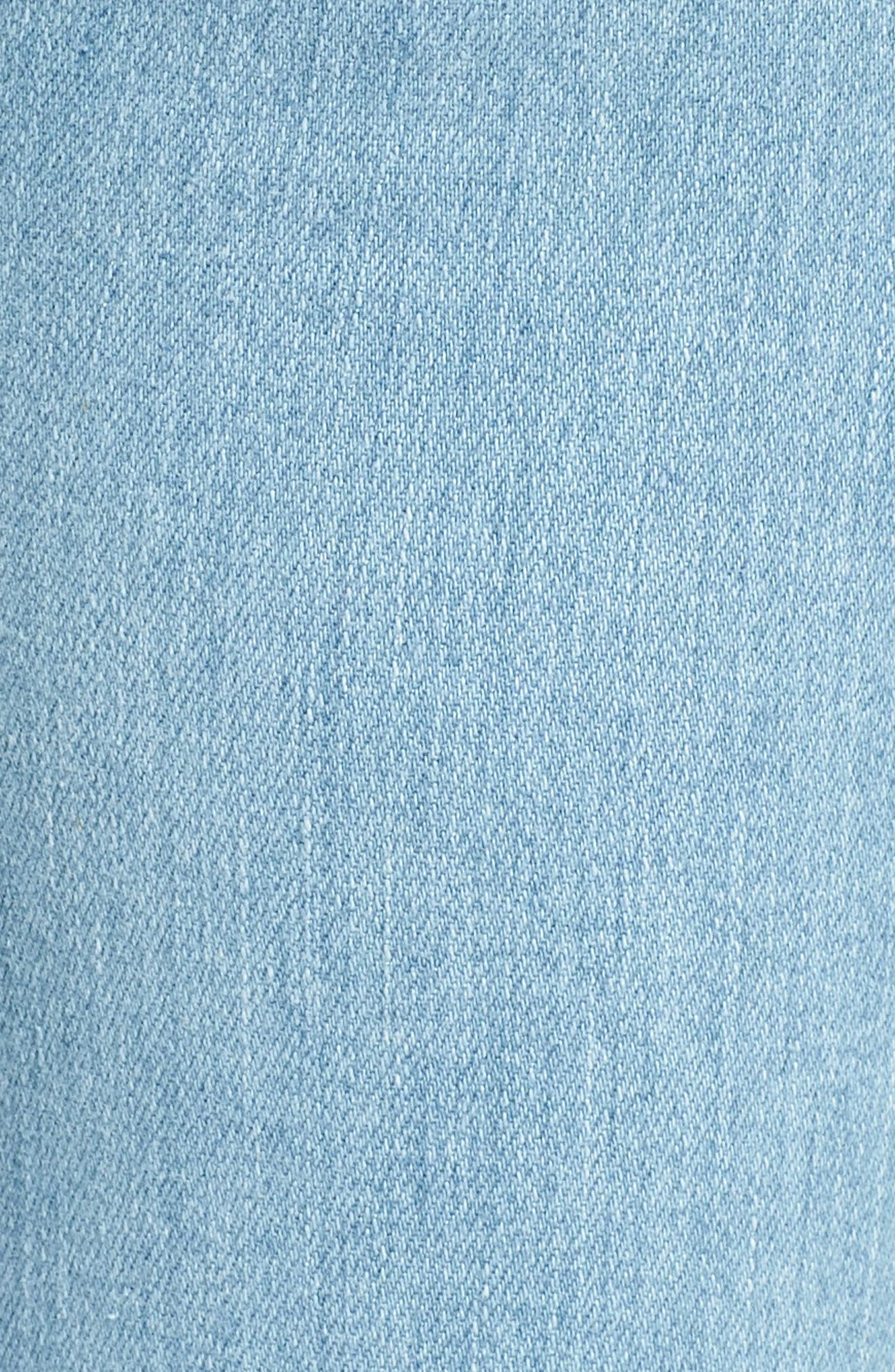 Nico Ankle Super Skinny Jeans,                             Alternate thumbnail 6, color,                             Miss You