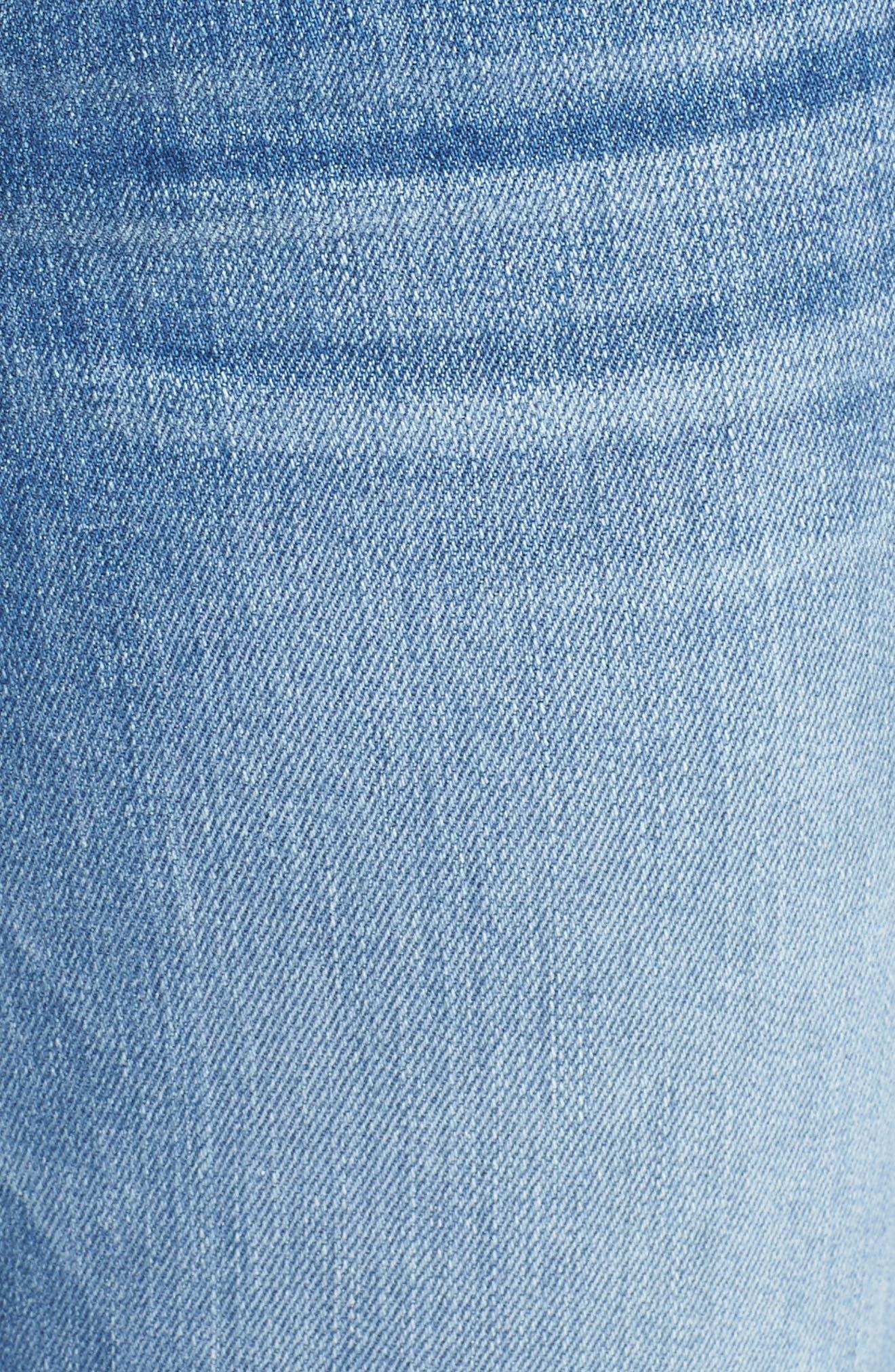 Transcend Vintage - Verdugo Ultra Skinny Jeans,                             Alternate thumbnail 5, color,                             Atterbury