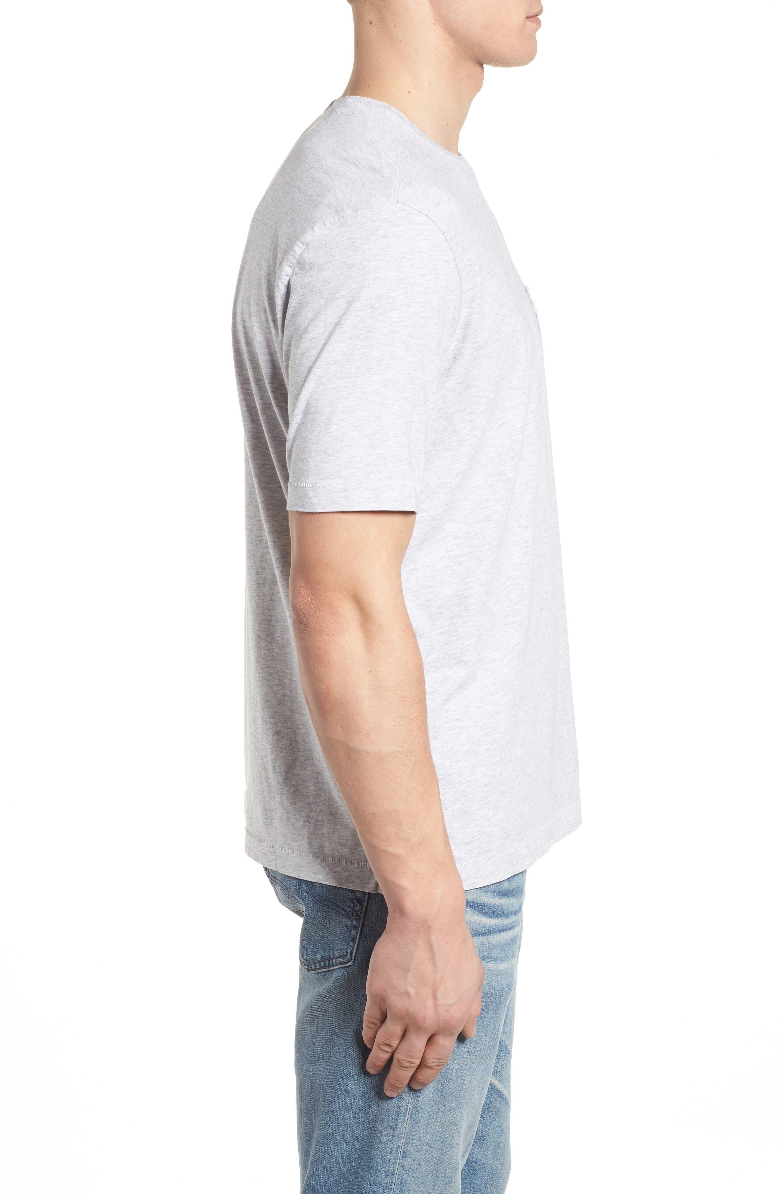 New Bali Skyline T-Shirt,                             Alternate thumbnail 3, color,                             Zinc Gray Heather
