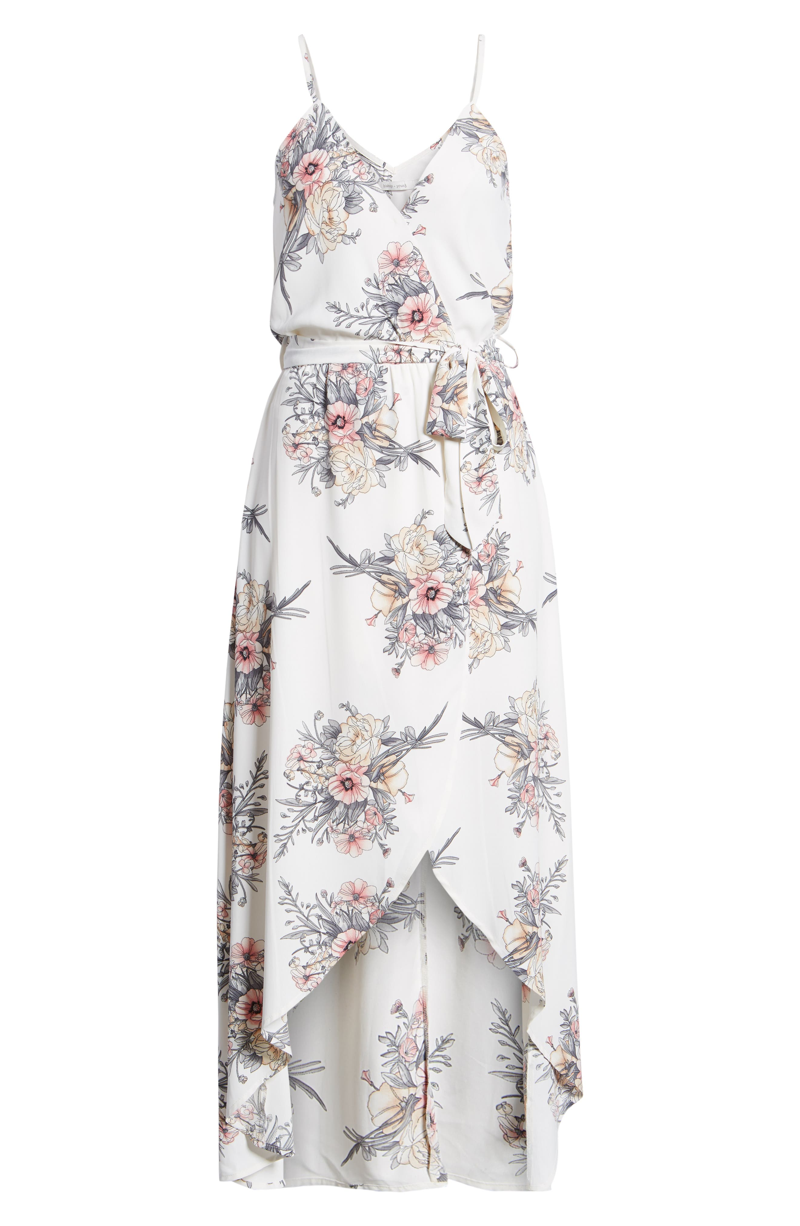 Bishop + Young Summer of Love Maxi Dress,                             Alternate thumbnail 7, color,                             Summer Of Love Print