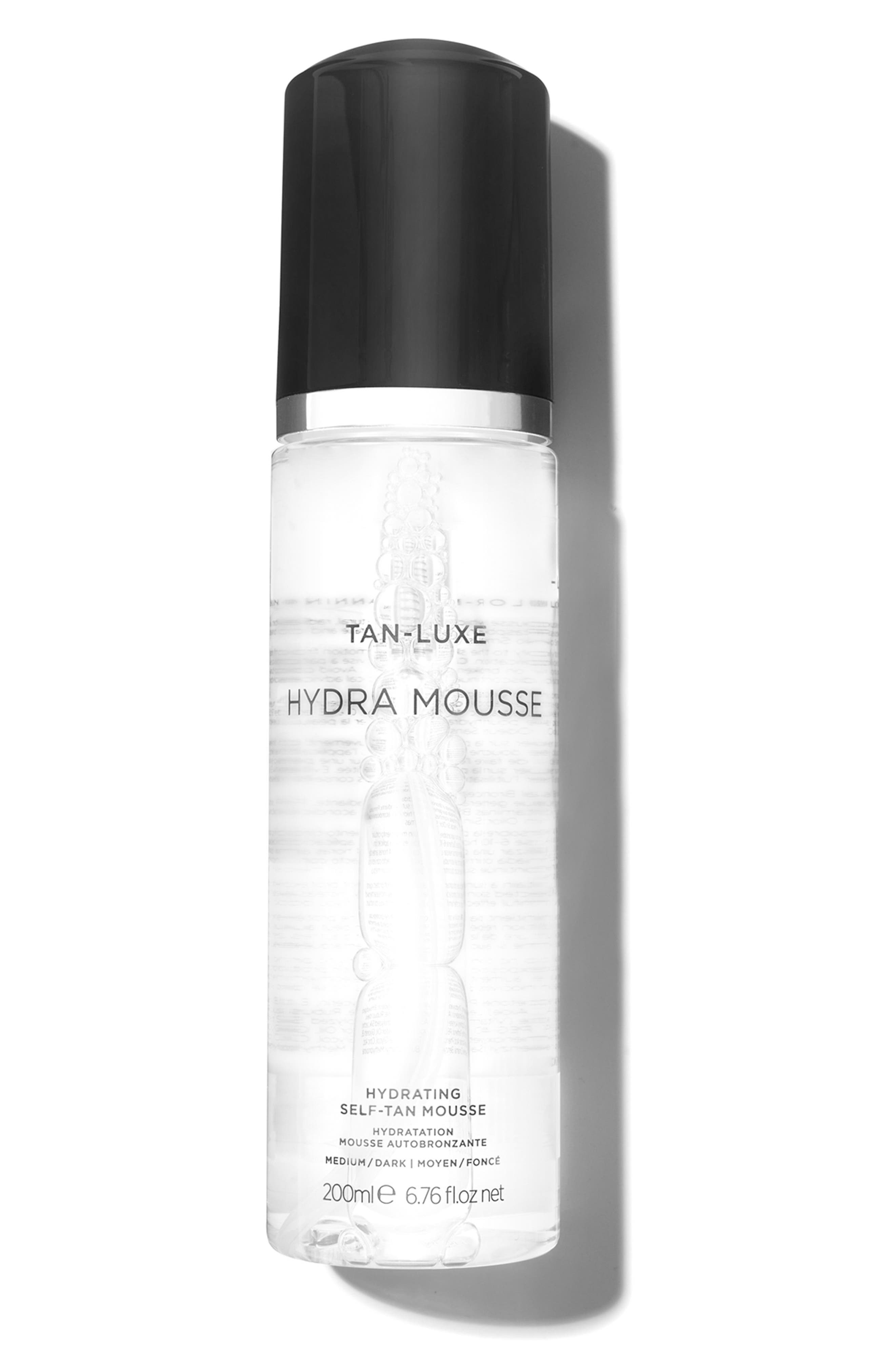 SPACE.NK.apothecary TAN-LUXE Hydra Mousse Hydrating Self-Tan Mousse,                         Main,                         color, Medium/Dark