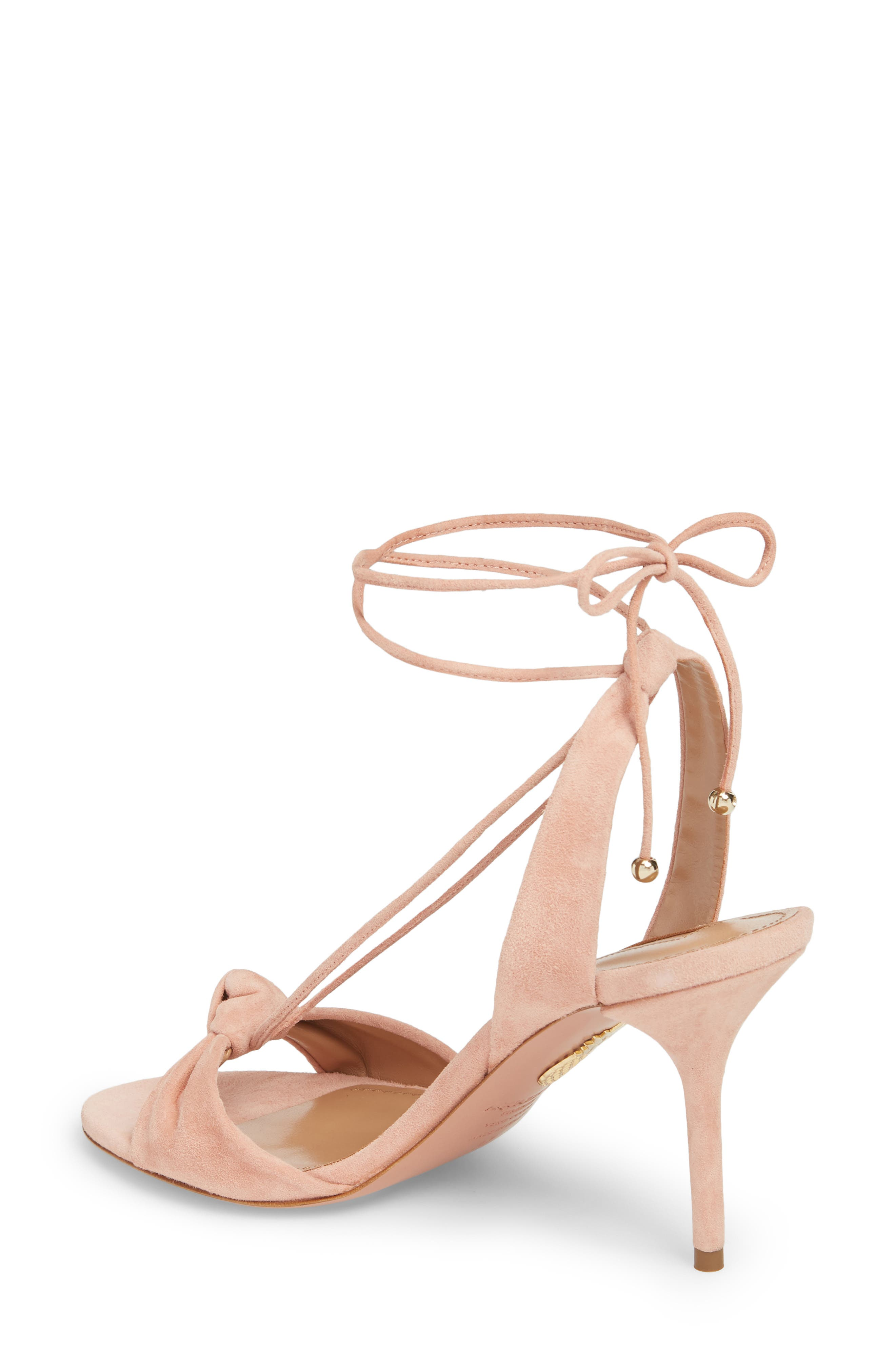 Virginie Lace-Up Sandal,                             Alternate thumbnail 2, color,                             French Rose