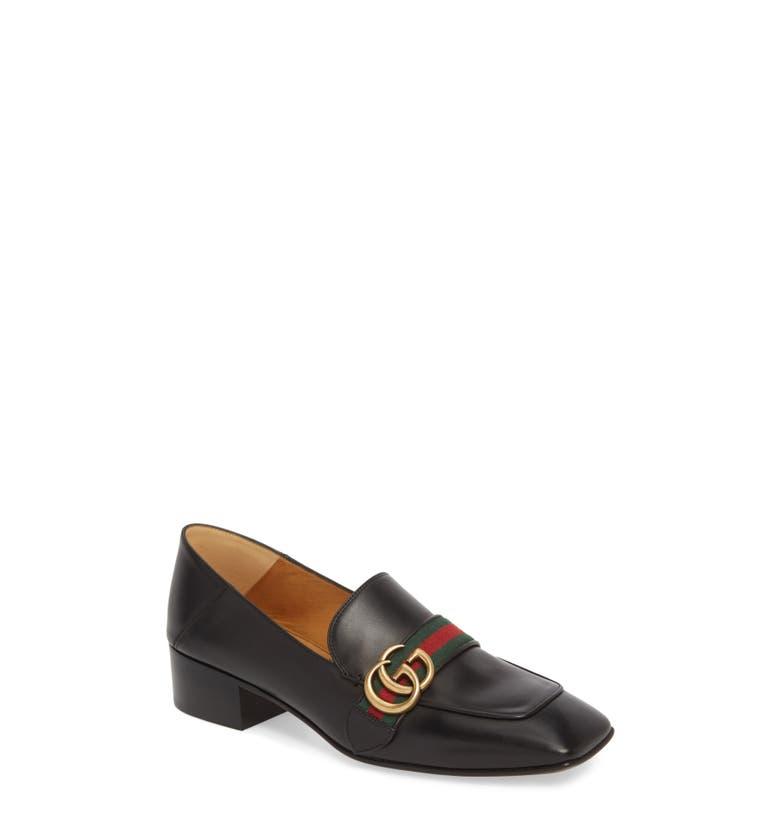 20fe7d641 Shoptagr | Gucci Peyton Loafer Pump (Women) by Gucci