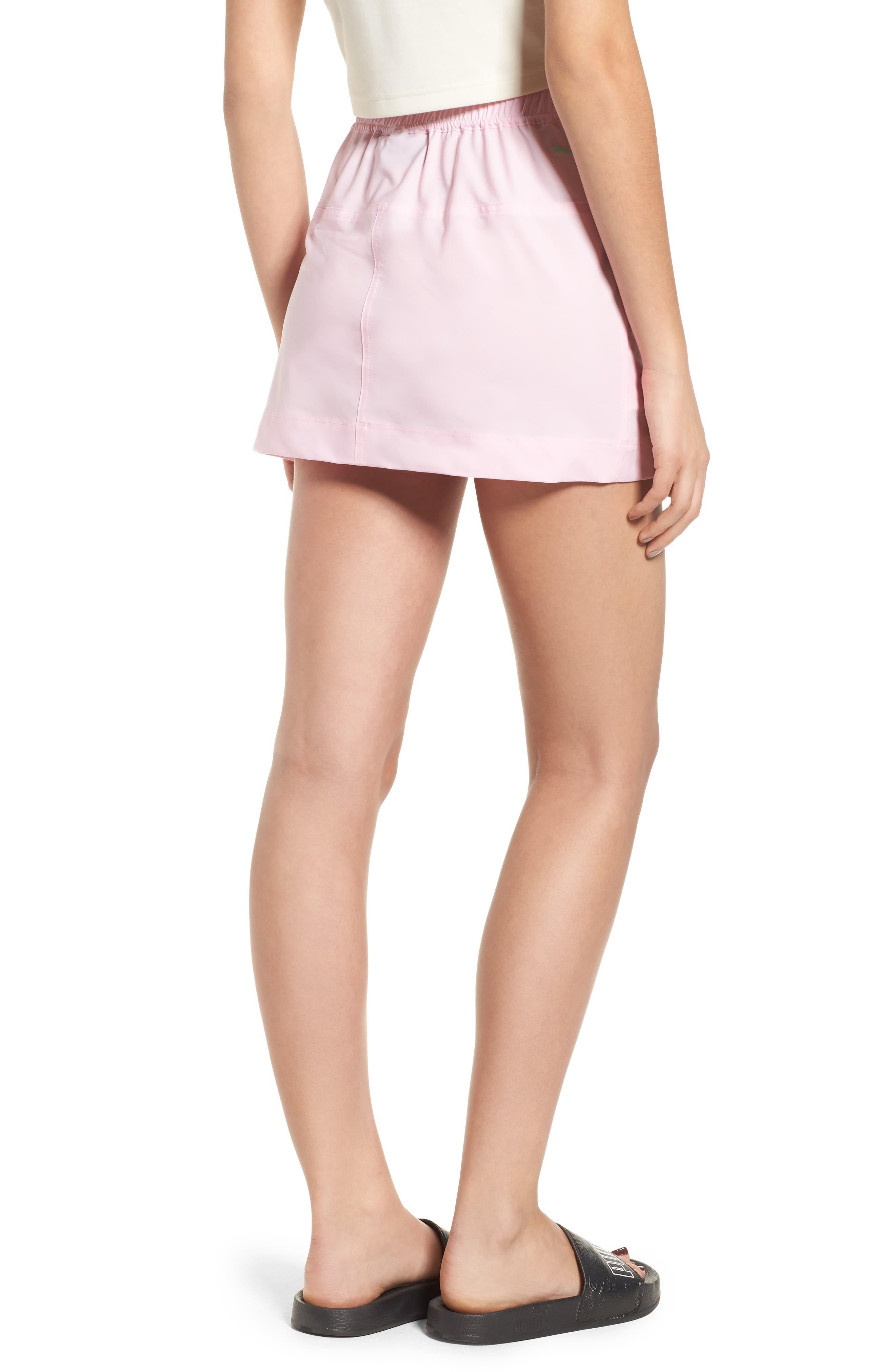 PUMA by Rihanna Board Skirt,                             Alternate thumbnail 2, color,                             Pink Lady