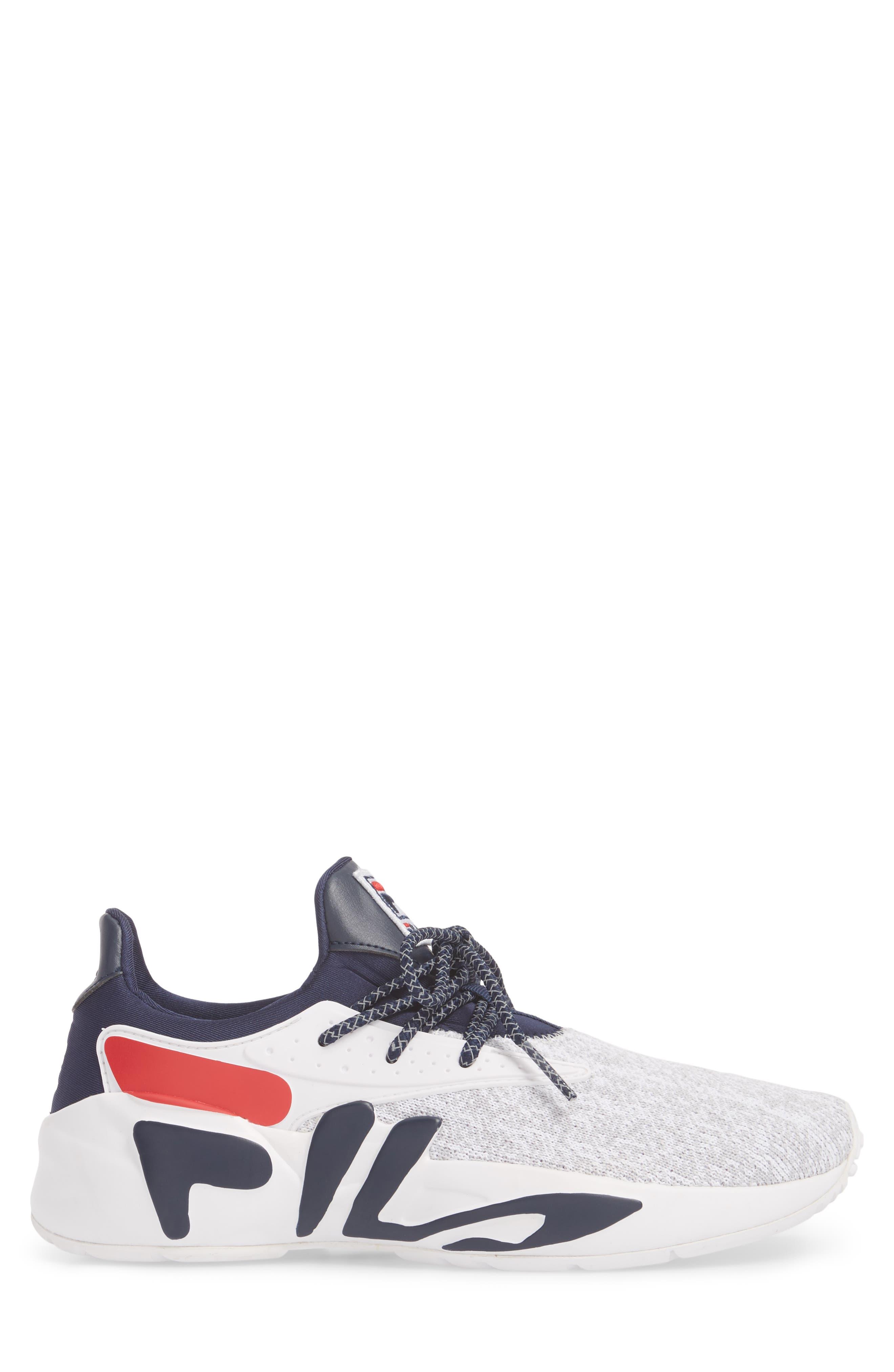 Mindbreaker 2.0 Sneaker,                             Alternate thumbnail 3, color,                             White/ Navy/ Red