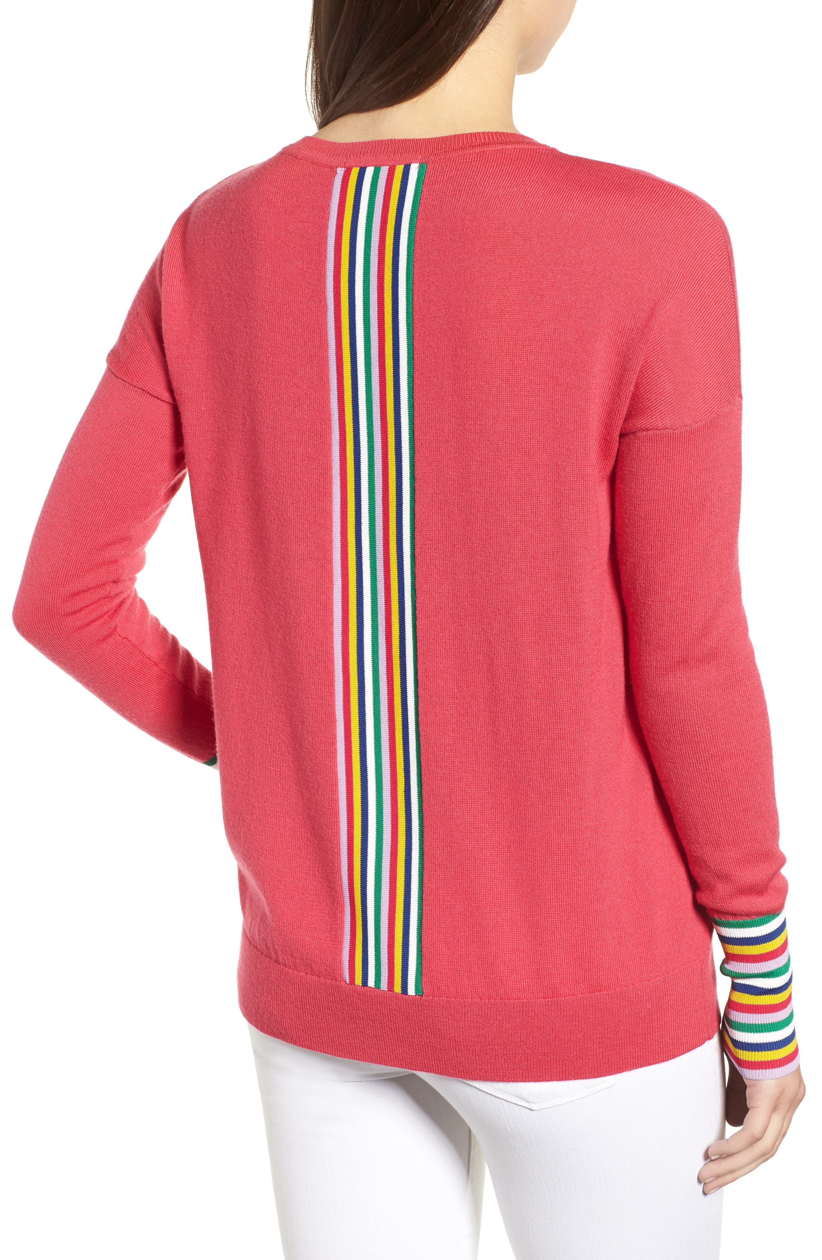 Cassandra Sweater,                             Alternate thumbnail 2, color,                             Carnival Pink