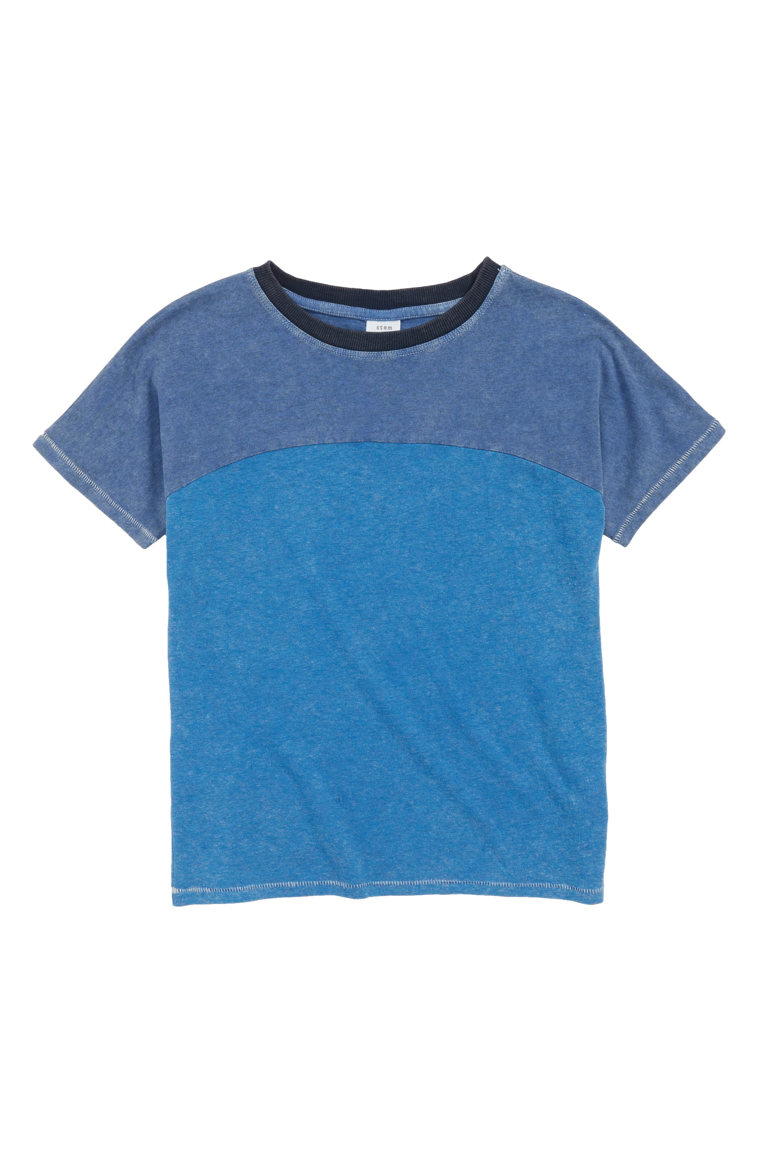 Stem Seamed T-Shirt (Toddler Boys, Little Boys & Big Boys)