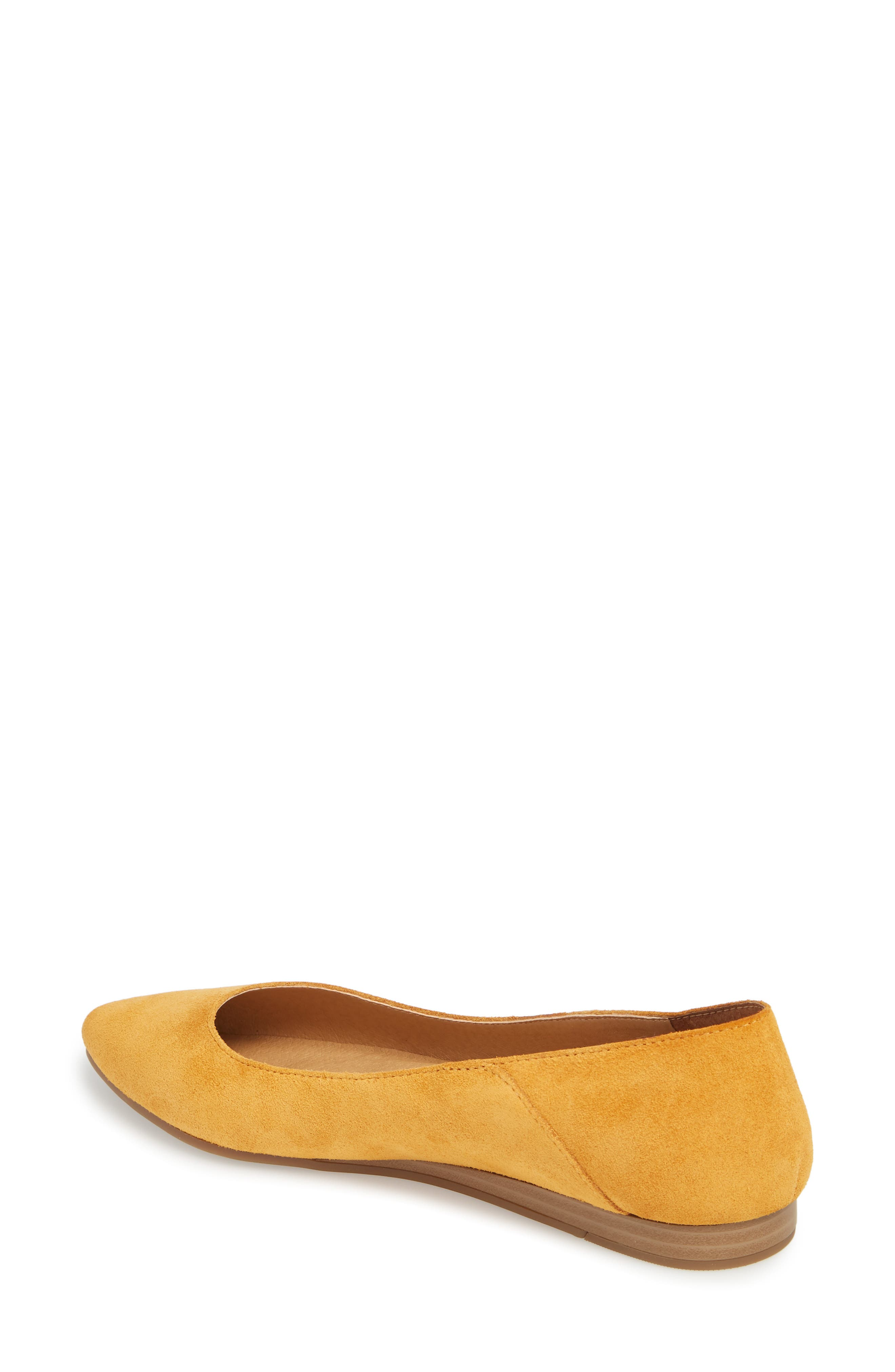 Bylando Flat,                             Alternate thumbnail 2, color,                             Inca Gold Suede