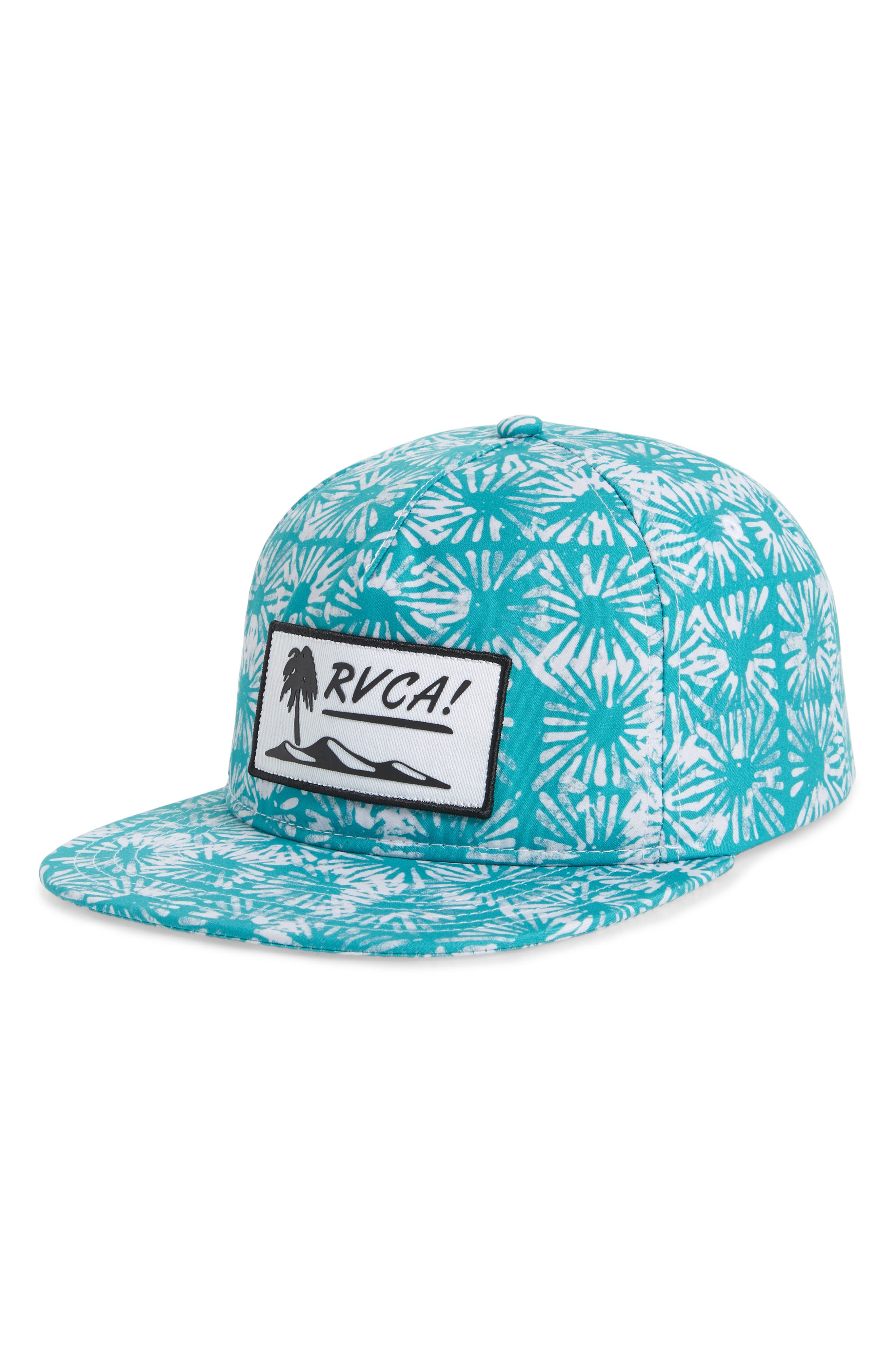 Duh Loris Snapback Cap,                         Main,                         color, Teal