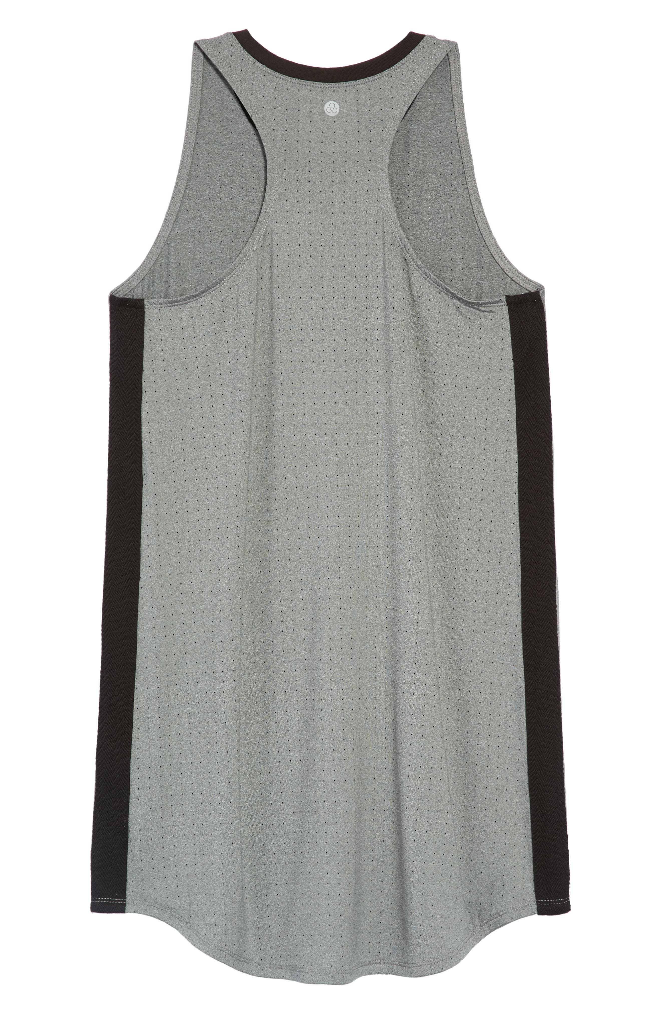 Racerback Dress,                             Alternate thumbnail 2, color,                             Grey Heather