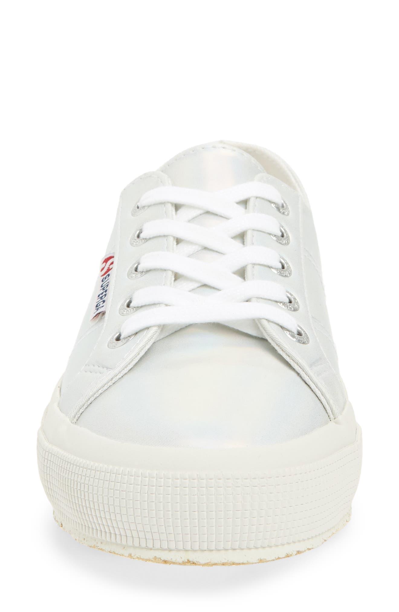 2750 Hologramw Low Top Sneaker,                             Alternate thumbnail 4, color,                             Iridescent