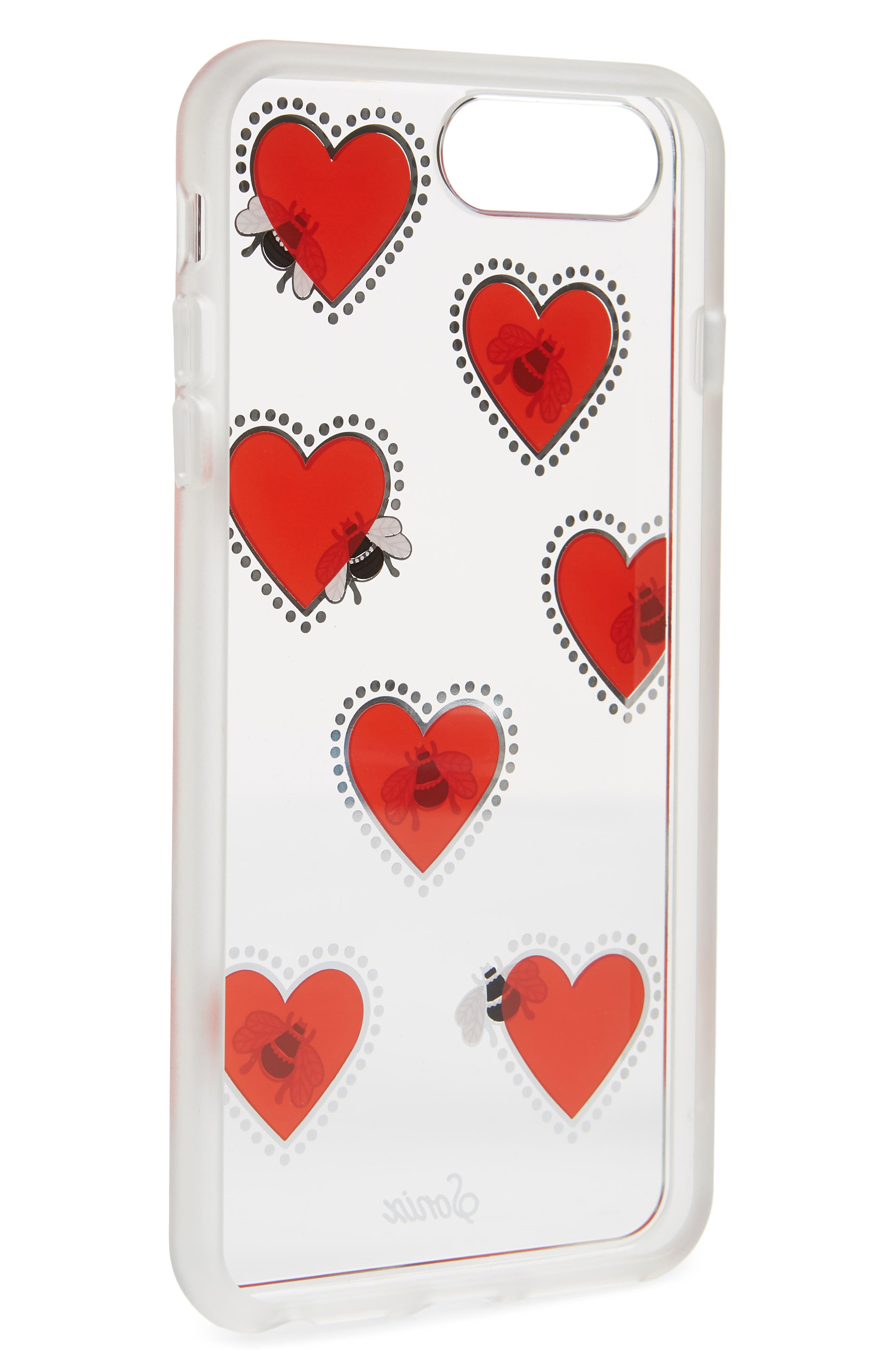 Bee Still iPhone 7/8 & 7/8 Plus Case,                             Alternate thumbnail 2, color,                             Clear/ Multi