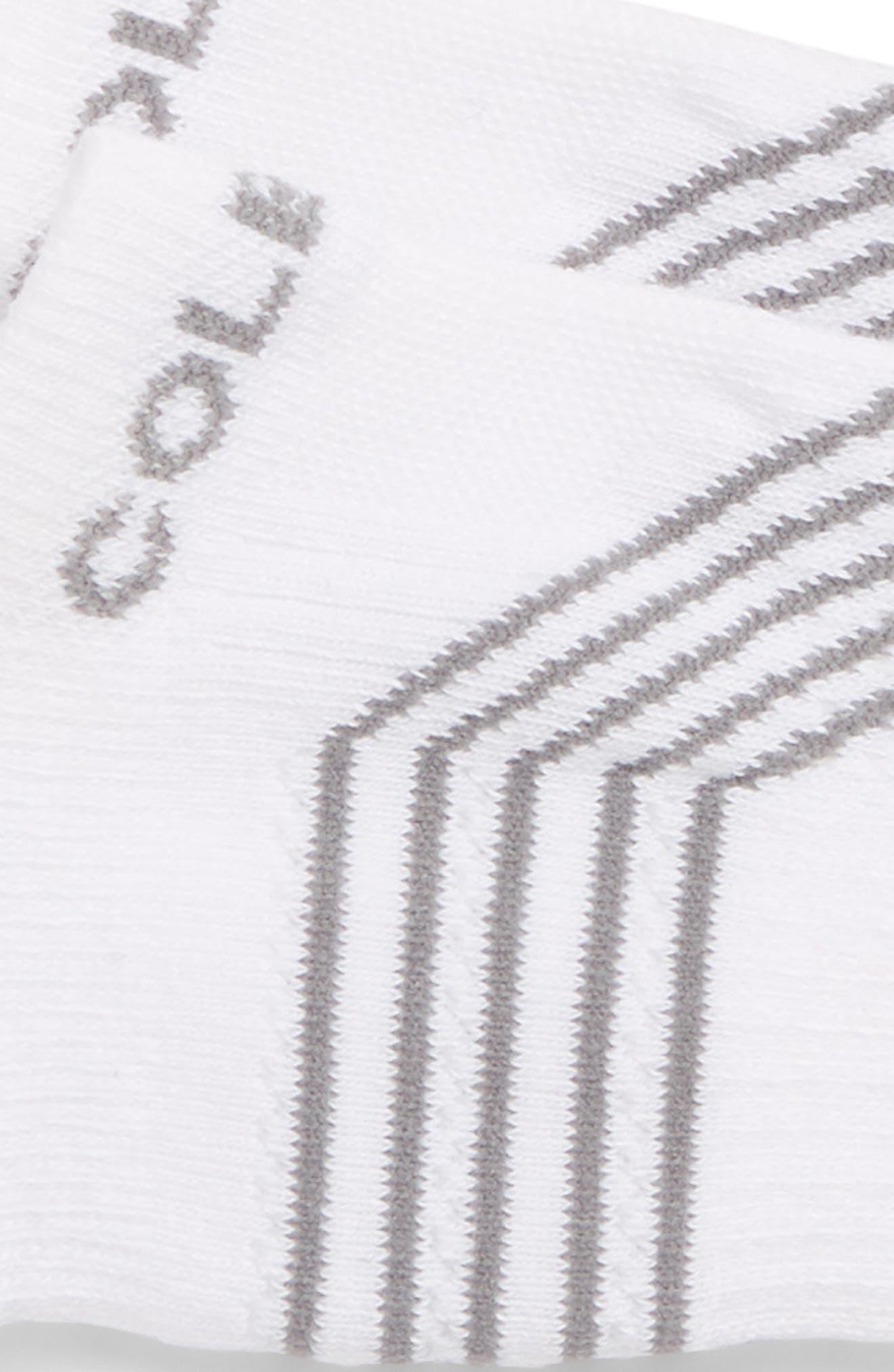 ZerøGrand Socks,                             Alternate thumbnail 2, color,                             White
